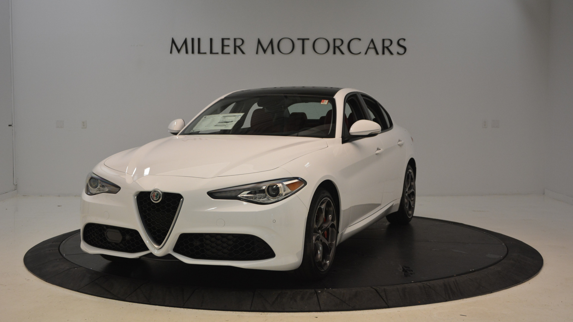 New 2017 Alfa Romeo Giulia Ti Sport Q4 For Sale In Greenwich, CT 1487_main