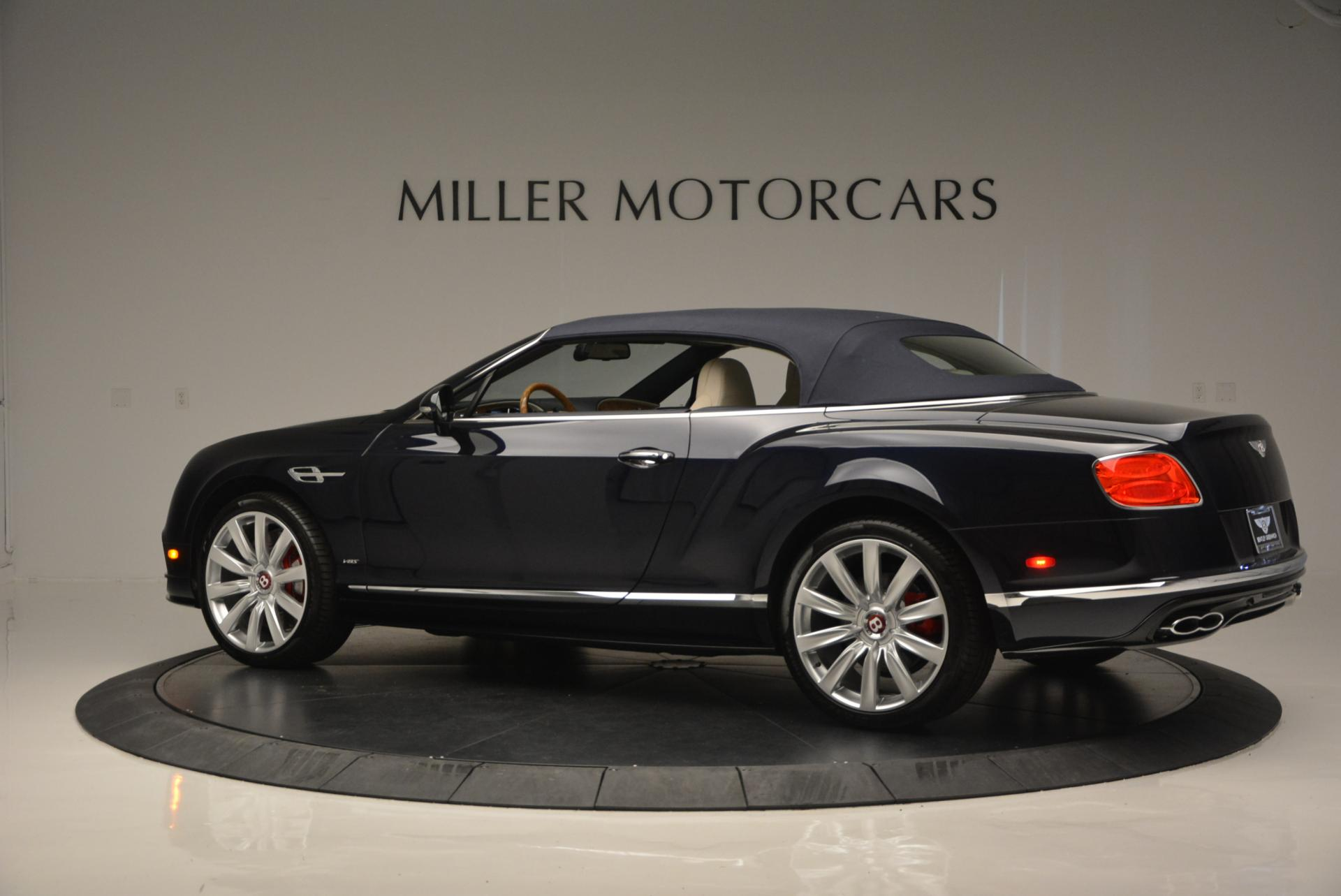 Used 2016 Bentley Continental GT V8 S Convertible  For Sale In Greenwich, CT 15_p16