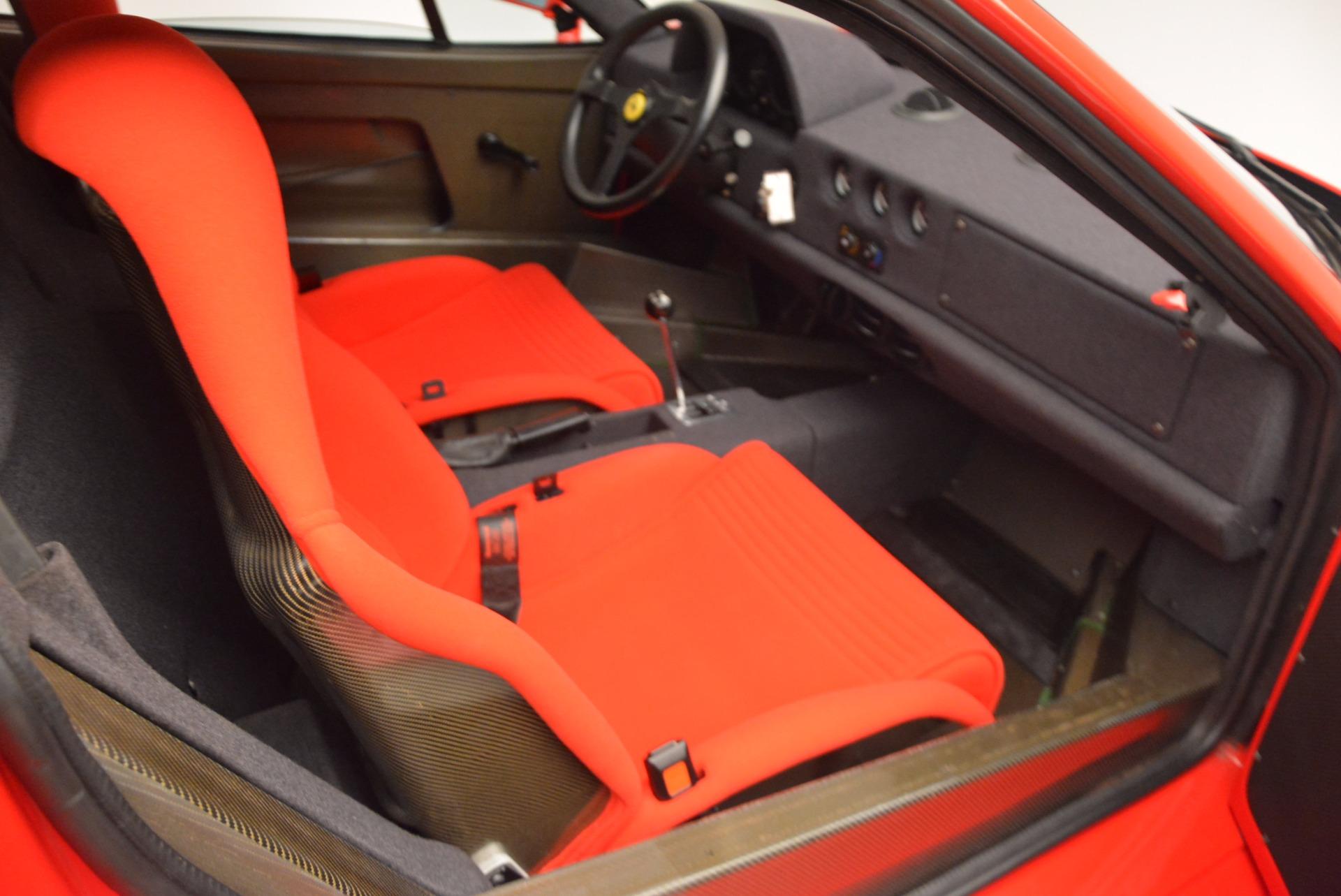 Used 1992 Ferrari F40  For Sale In Greenwich, CT 1500_p17