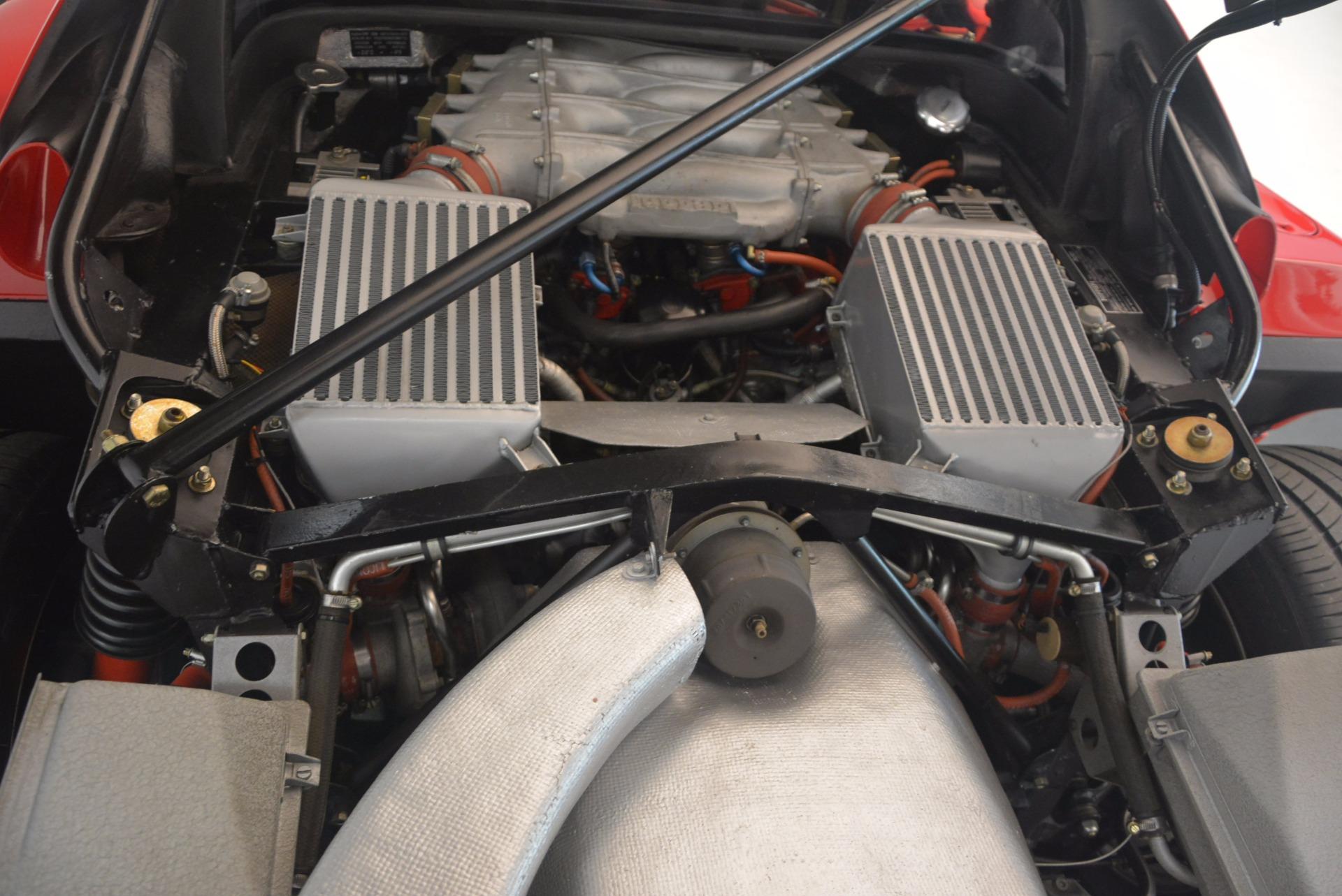 Used 1992 Ferrari F40  For Sale In Greenwich, CT 1500_p24