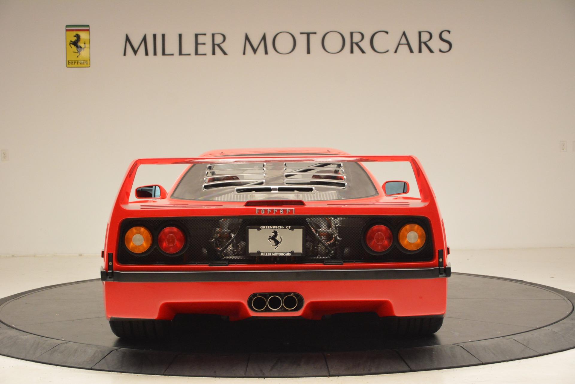 Used 1992 Ferrari F40  For Sale In Greenwich, CT 1500_p7
