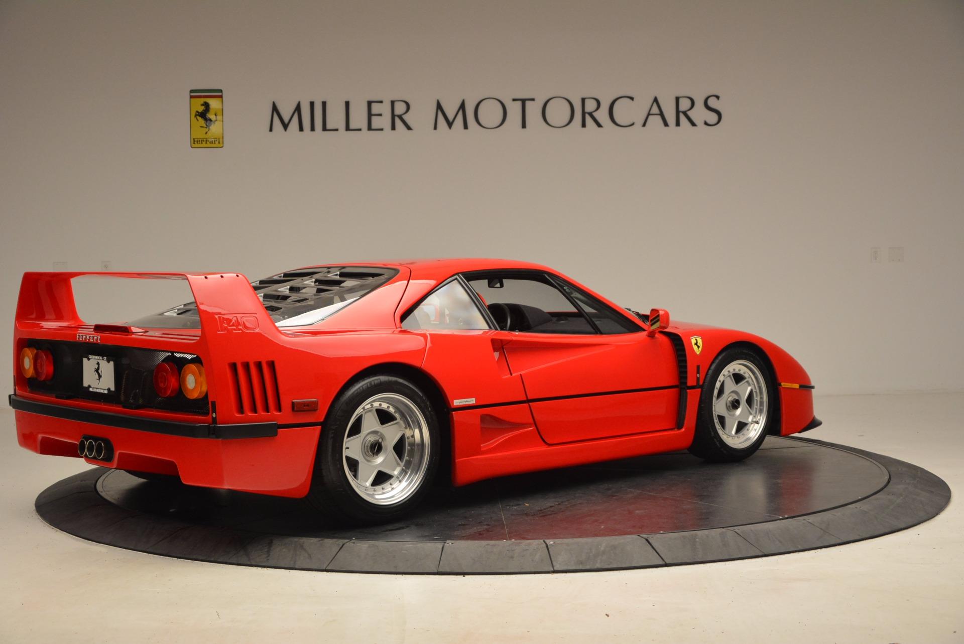 Used 1992 Ferrari F40  For Sale In Greenwich, CT 1500_p9