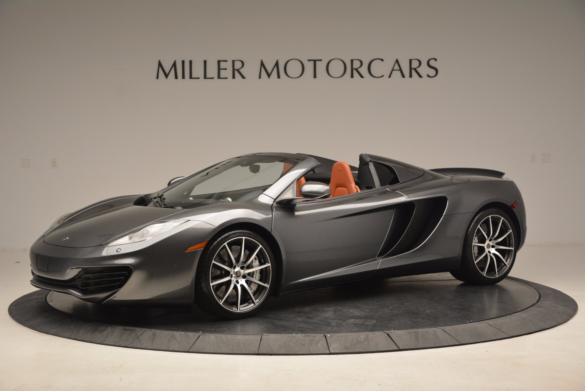 Used 2014 McLaren MP4-12C Convertible For Sale In Greenwich, CT 1510_main