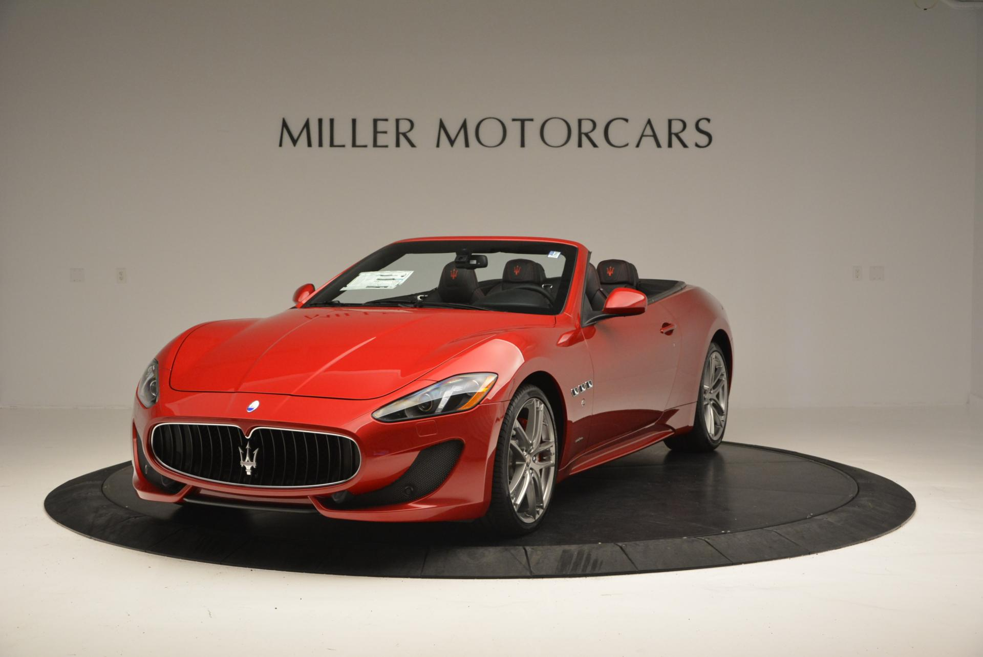 New 2017 Maserati GranTurismo Cab Sport For Sale In Greenwich, CT 152_main