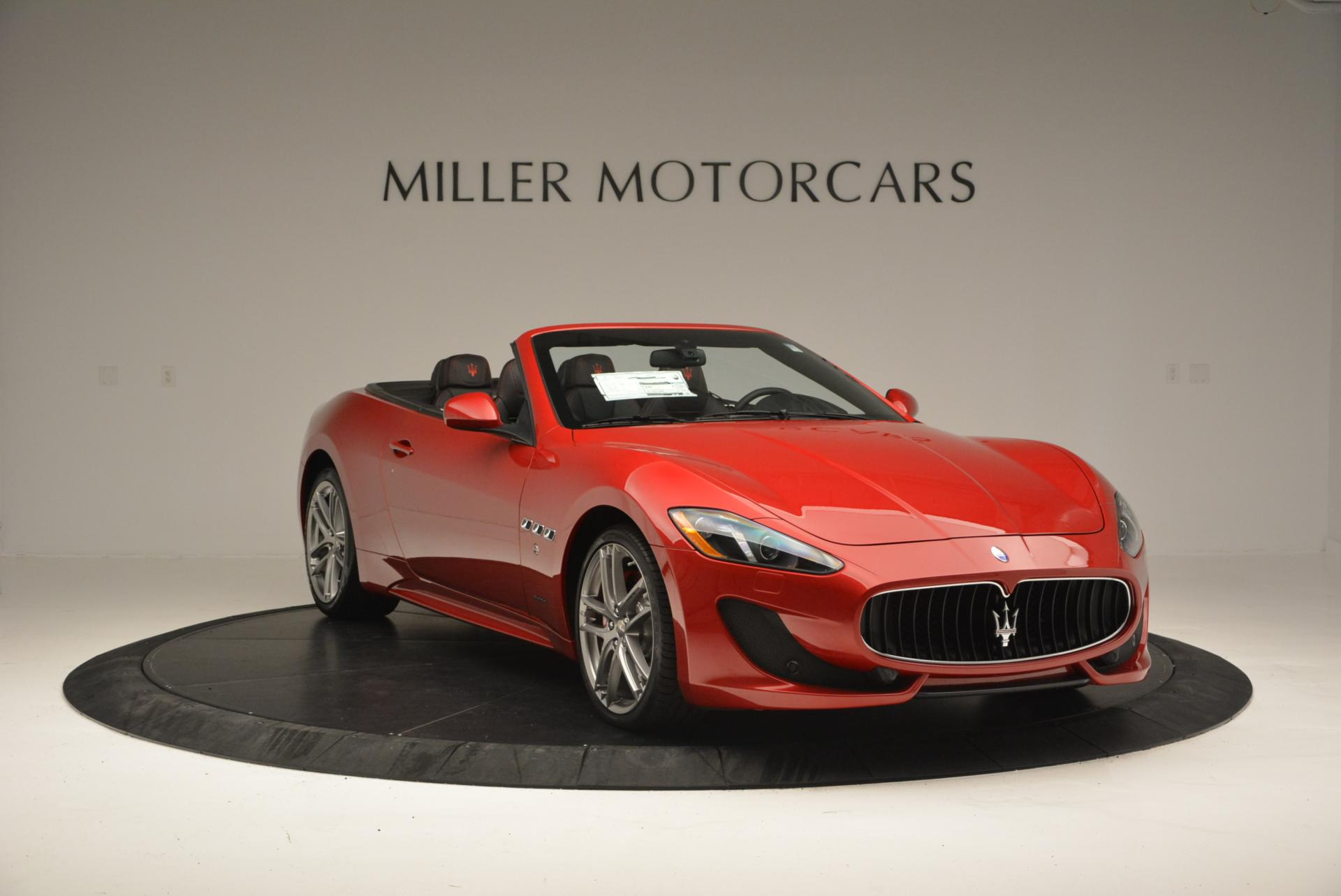 New 2017 Maserati GranTurismo Cab Sport For Sale In Greenwich, CT 152_p11