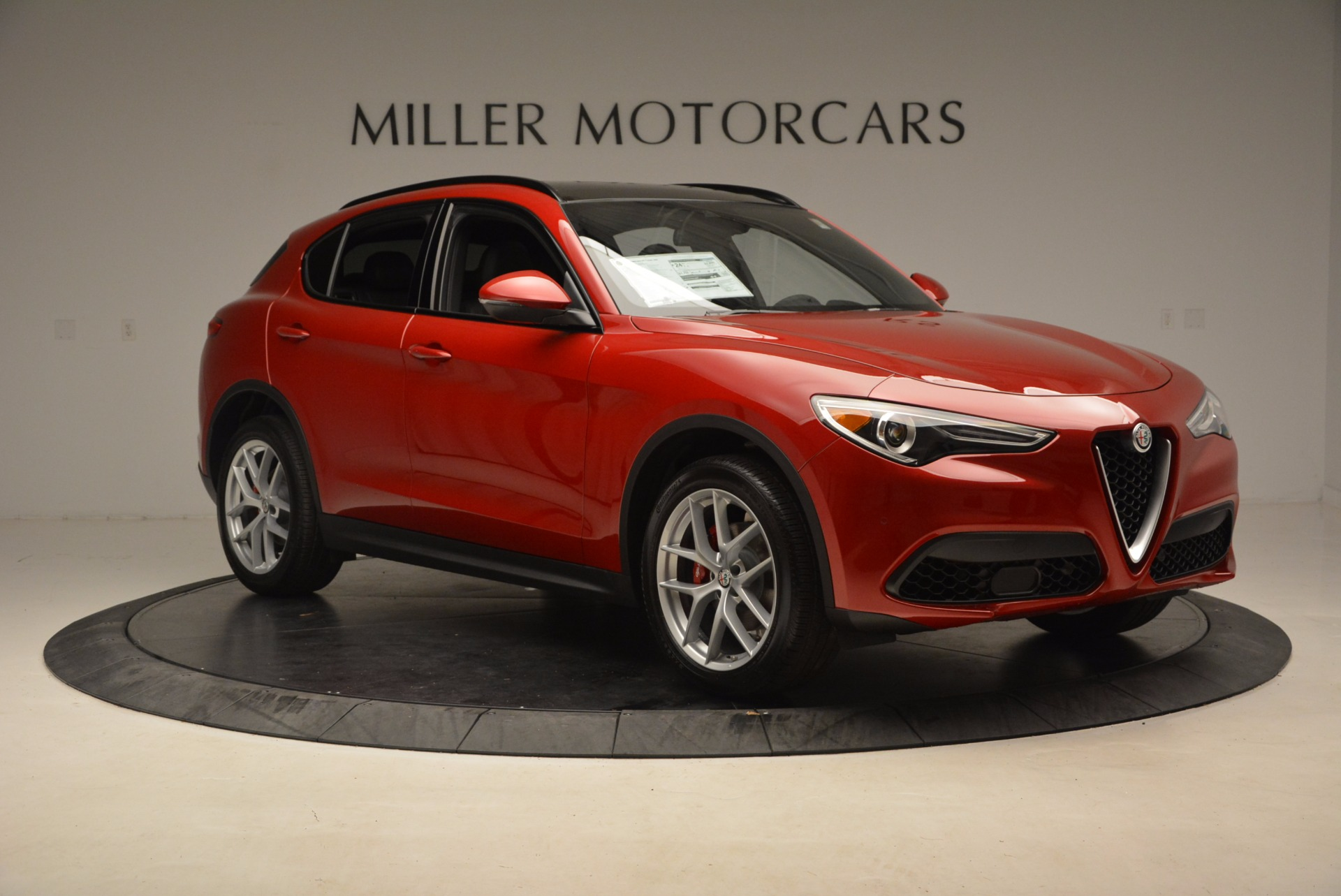 New 2018 Alfa Romeo Stelvio Ti Sport Q4 For Sale In Greenwich, CT 1521_p11