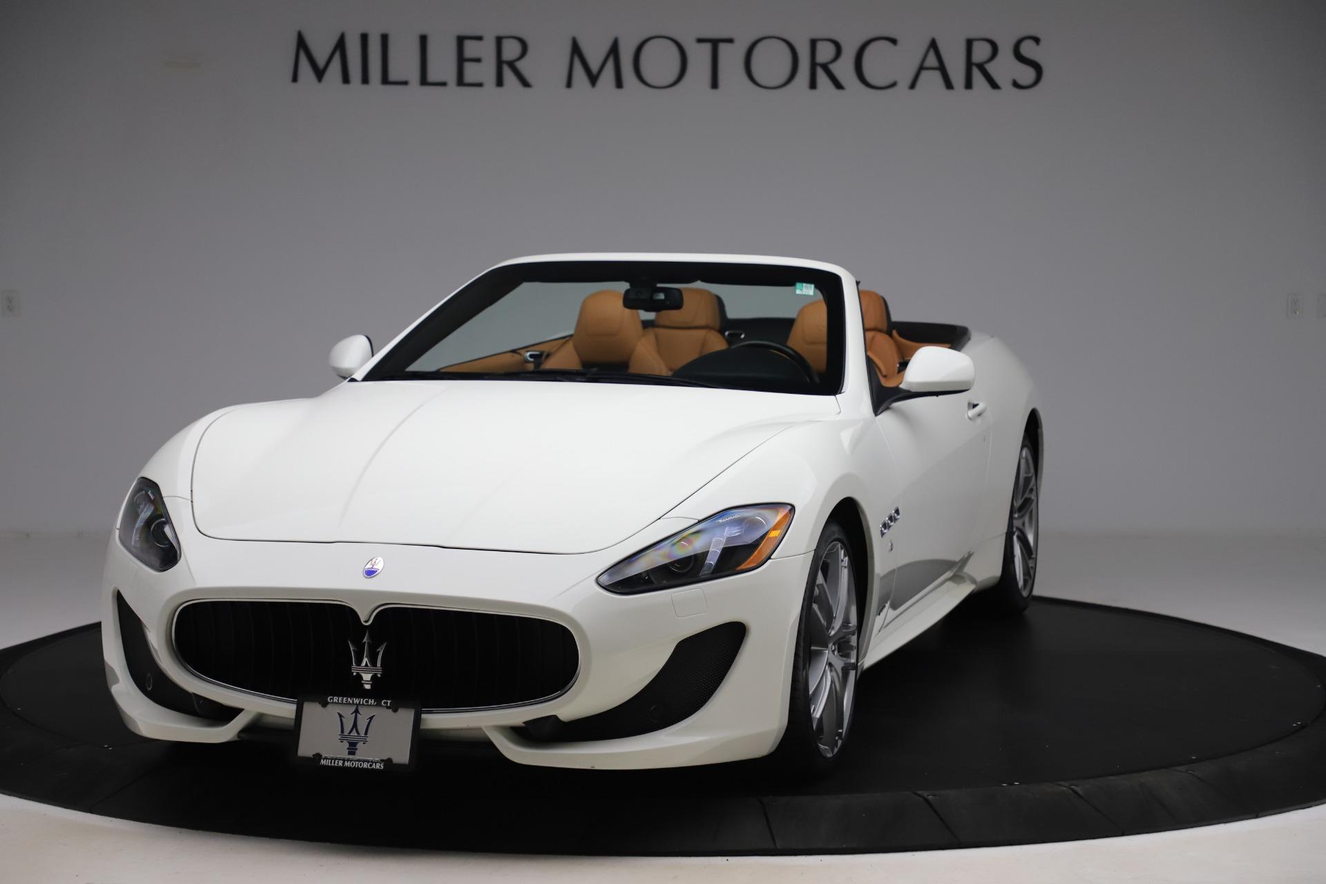 New 2017 Maserati GranTurismo Convertible Sport For Sale In Greenwich, CT 153_main
