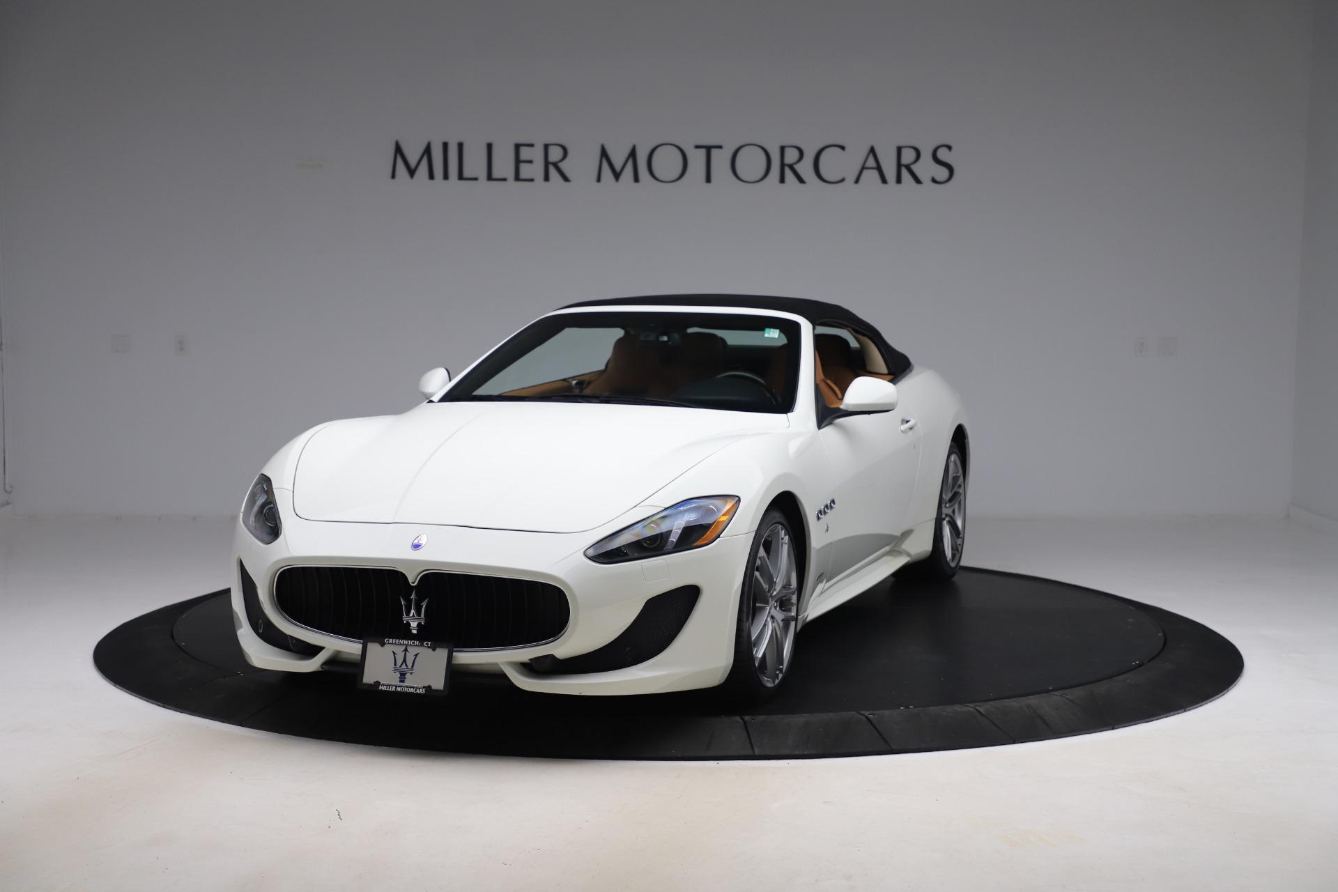 New 2017 Maserati GranTurismo Convertible Sport For Sale In Greenwich, CT 153_p13