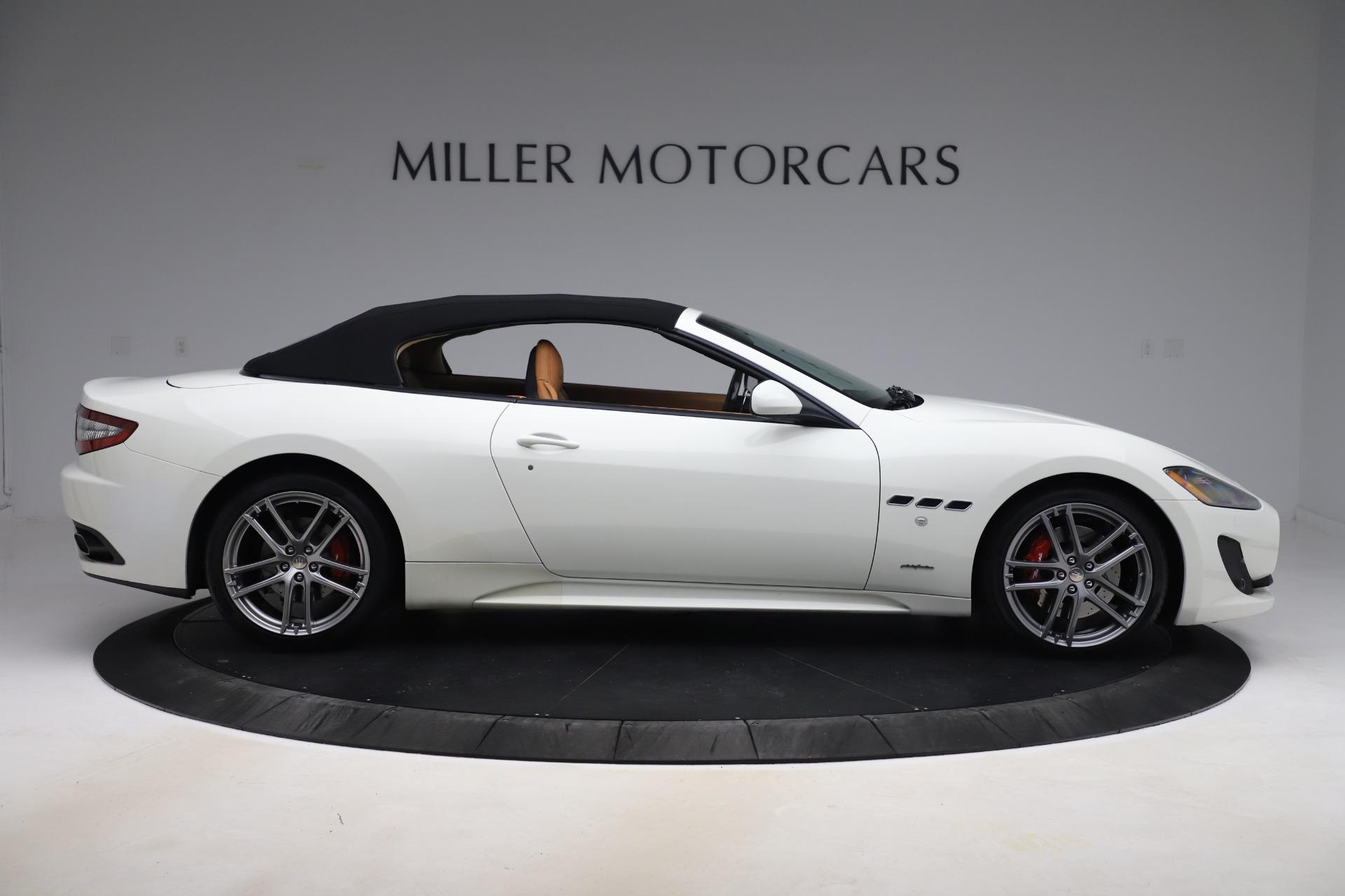 New 2017 Maserati GranTurismo Convertible Sport For Sale In Greenwich, CT 153_p20