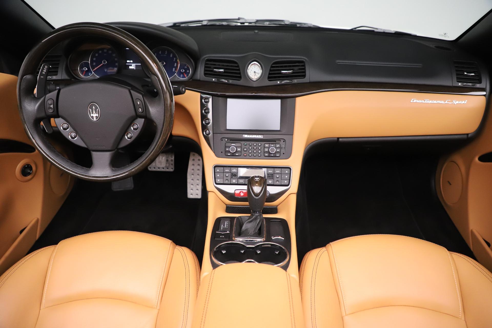 New 2017 Maserati GranTurismo Convertible Sport For Sale In Greenwich, CT 153_p26