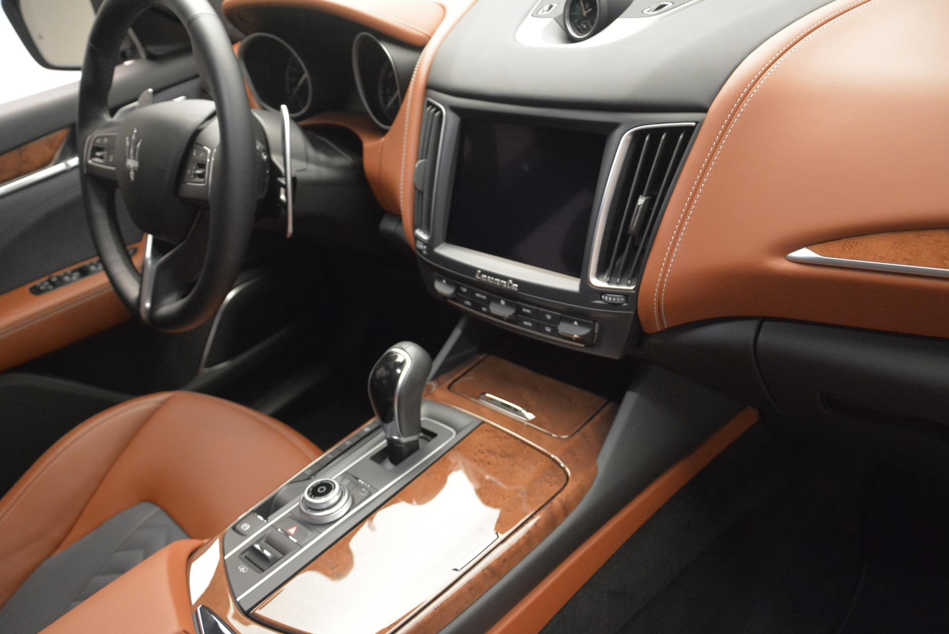 New 2018 Maserati Levante Q4 GranLusso For Sale In Greenwich, CT 1536_p24