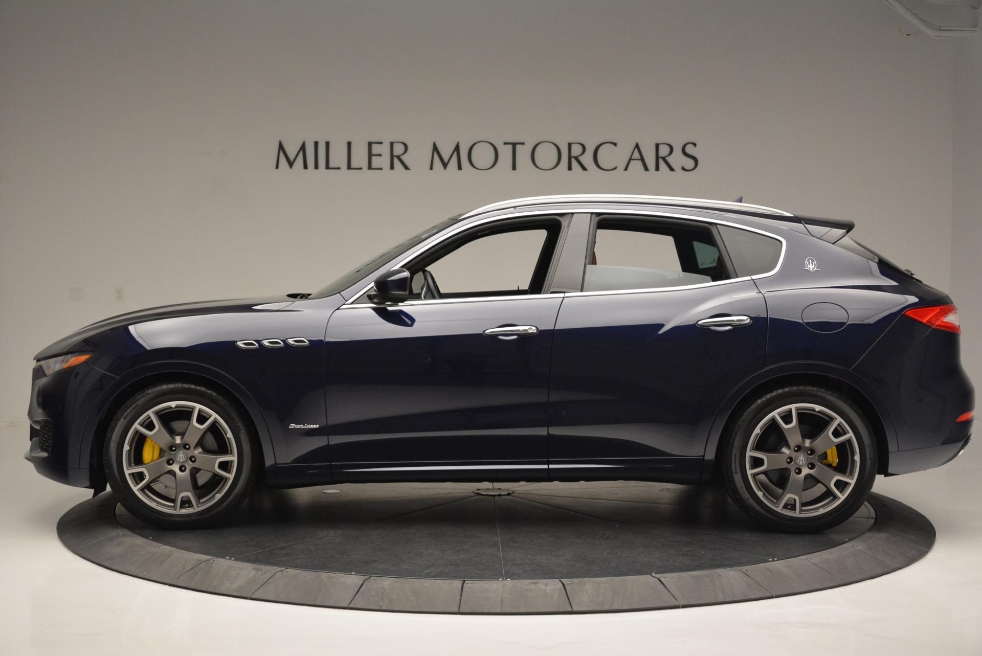 New 2018 Maserati Levante Q4 GranLusso For Sale In Greenwich, CT 1536_p3
