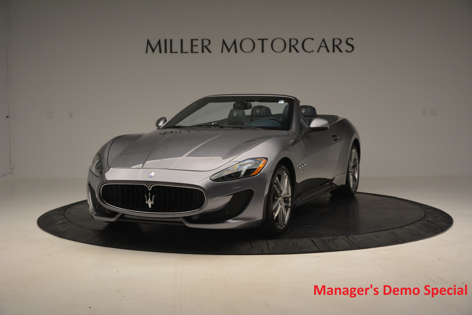New 2016 Maserati GranTurismo Convertible Sport For Sale In Greenwich, CT 154_main