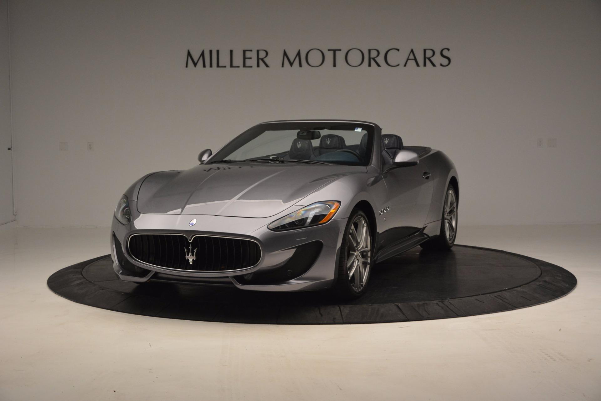 New 2016 Maserati GranTurismo Convertible Sport For Sale In Greenwich, CT 154_p2