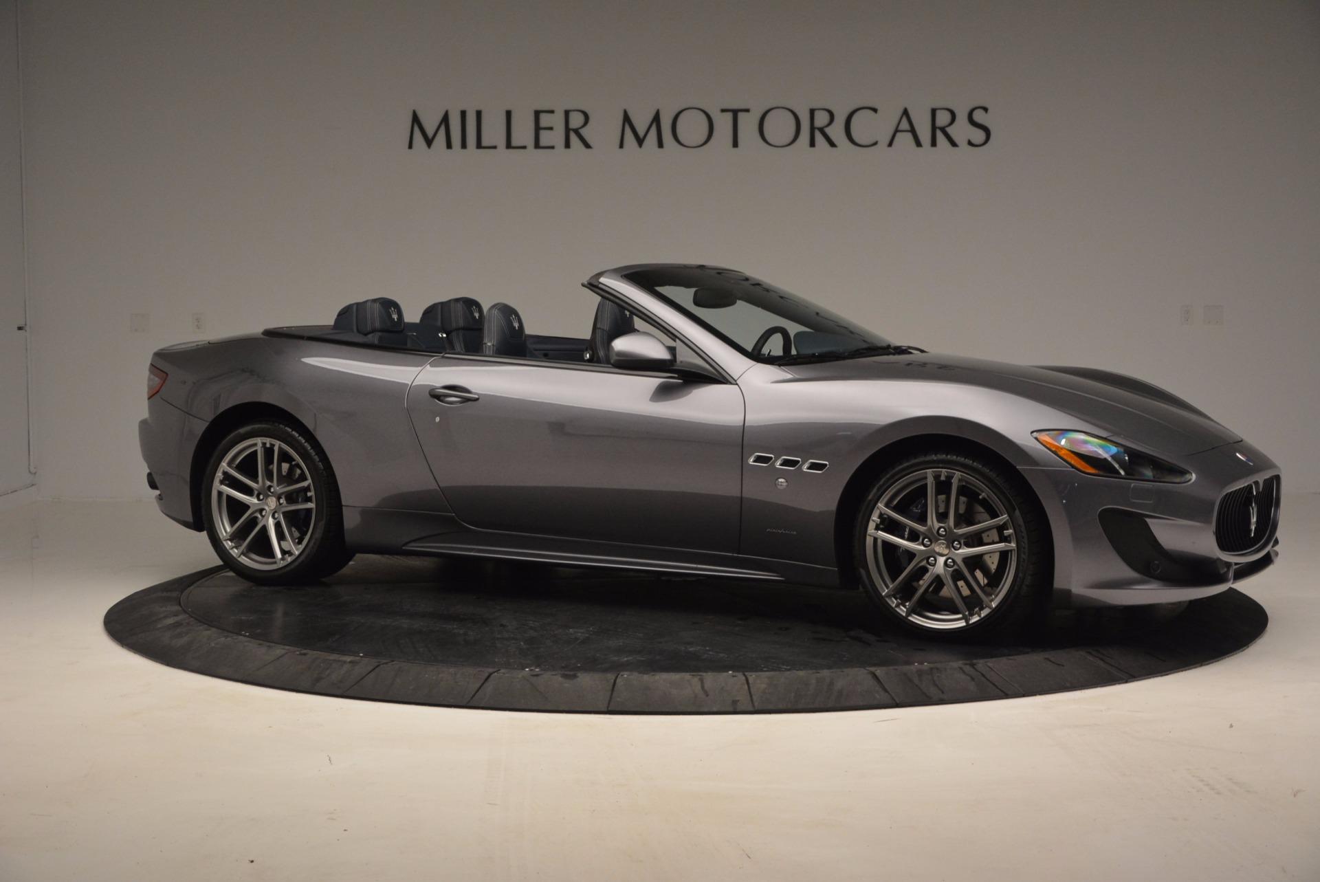 New 2016 Maserati GranTurismo Convertible Sport For Sale In Greenwich, CT 154_p7