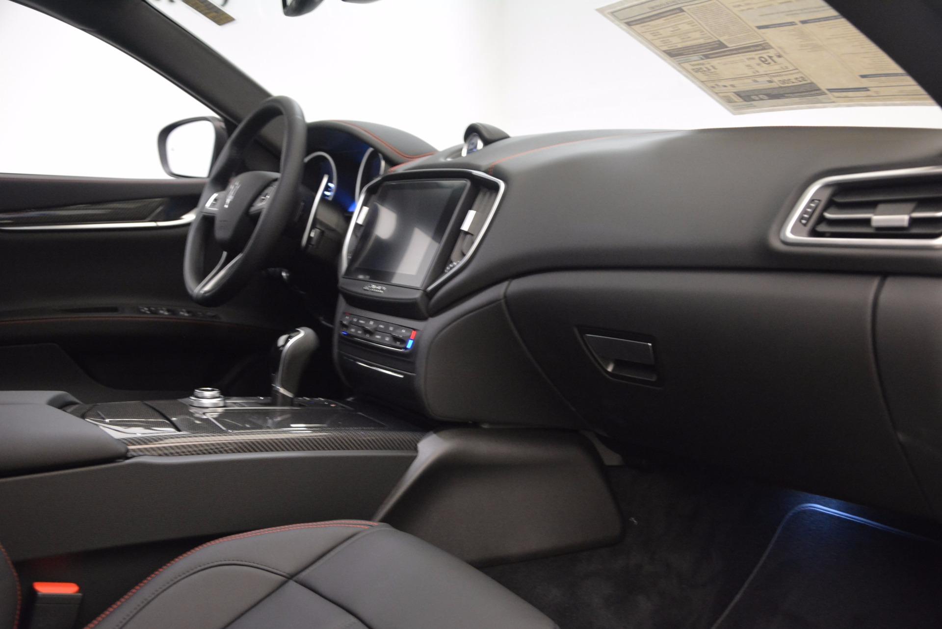 New 2018 Maserati Ghibli S Q4 GranSport For Sale In Greenwich, CT 1541_p17