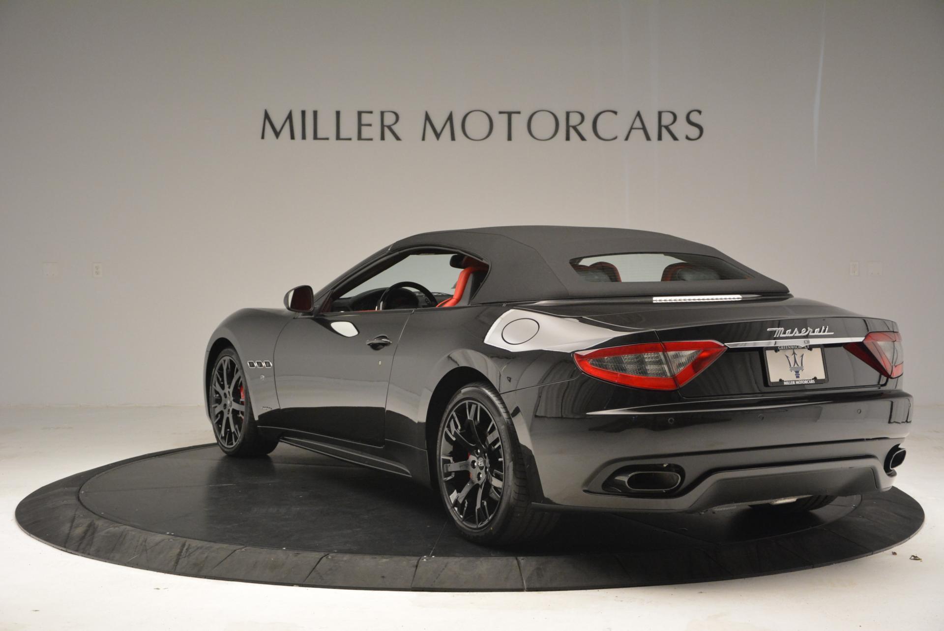 New 2016 Maserati GranTurismo Convertible Sport For Sale In Greenwich, CT 155_p10