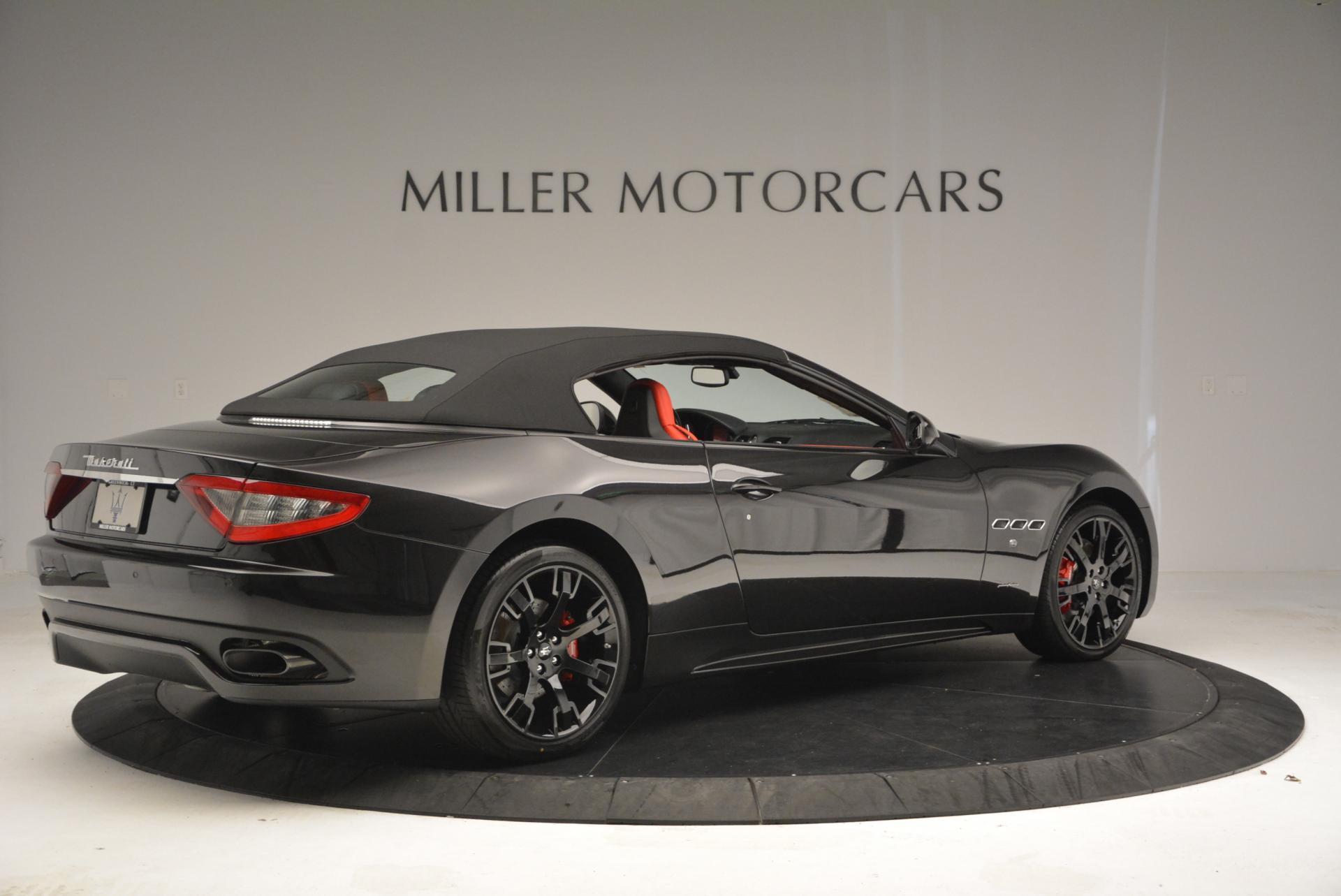 New 2016 Maserati GranTurismo Convertible Sport For Sale In Greenwich, CT 155_p16