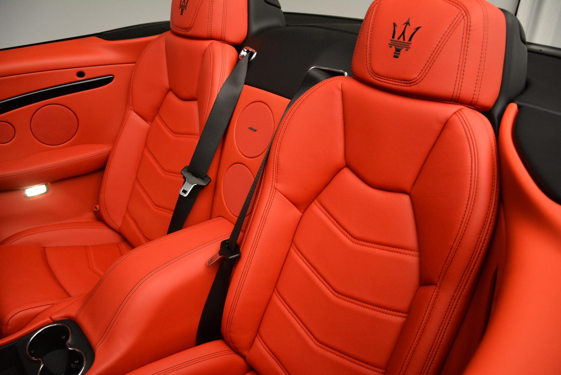 New 2016 Maserati GranTurismo Convertible Sport For Sale In Greenwich, CT 155_p30