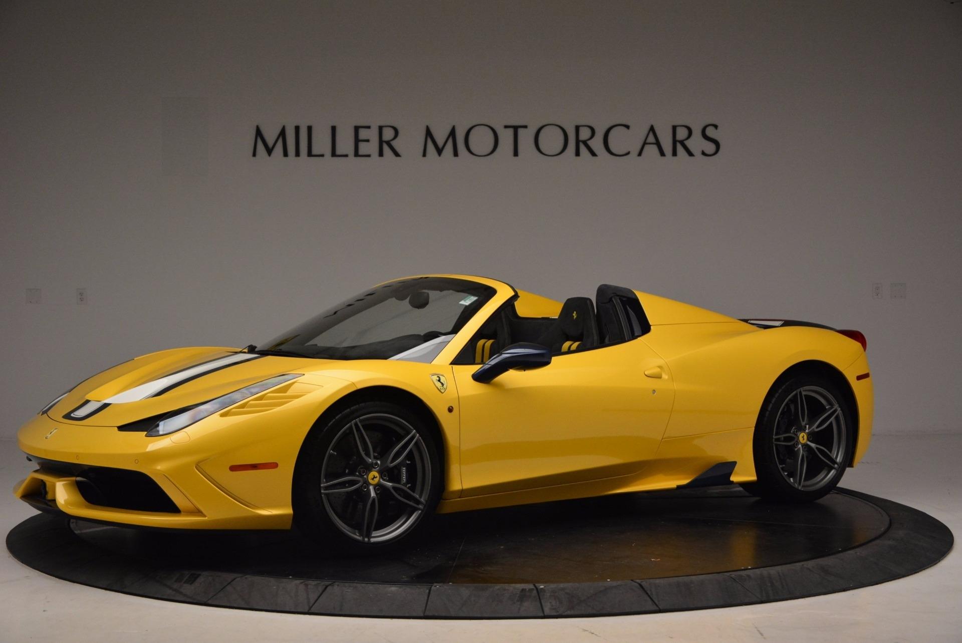 Used 2015 Ferrari 458 Speciale Aperta  For Sale In Greenwich, CT 1555_p2
