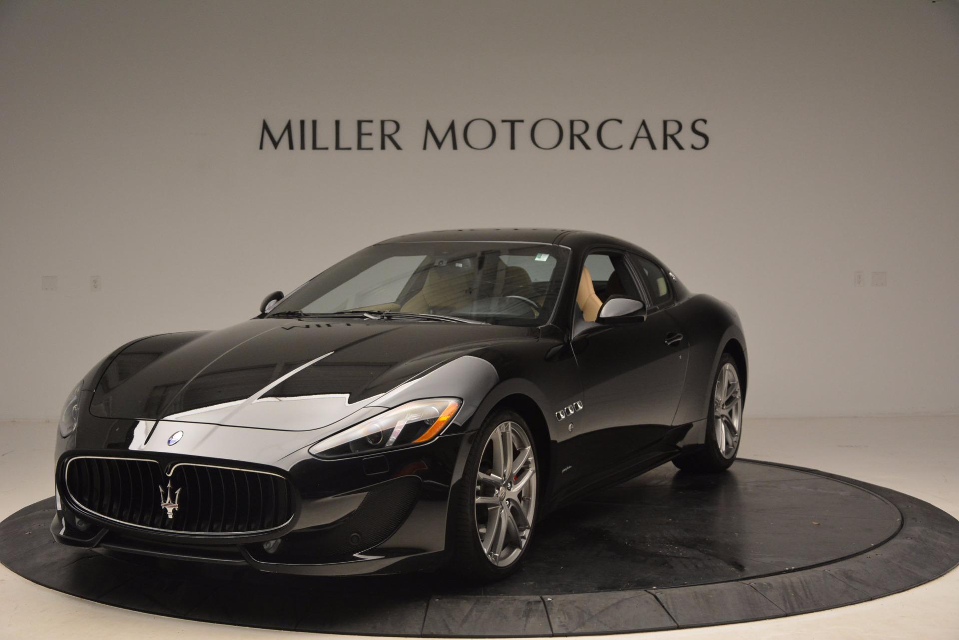Used 2015 Maserati GranTurismo Sport Coupe For Sale In Greenwich, CT 1557_main