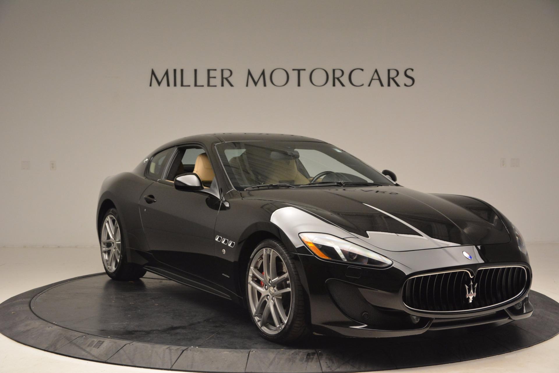 Used 2015 Maserati GranTurismo Sport Coupe For Sale In Greenwich, CT 1557_p11
