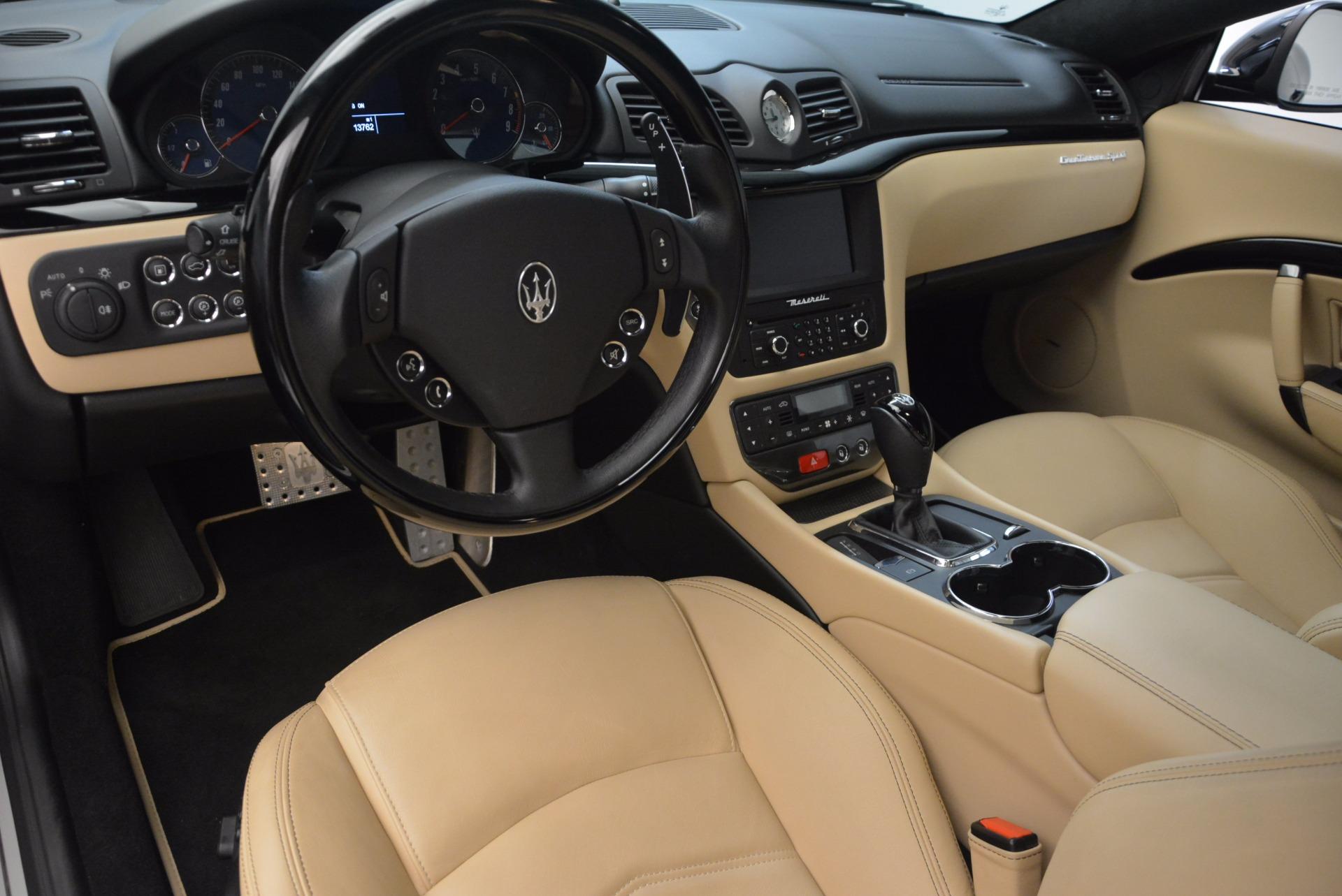 Used 2015 Maserati GranTurismo Sport Coupe For Sale In Greenwich, CT 1557_p13