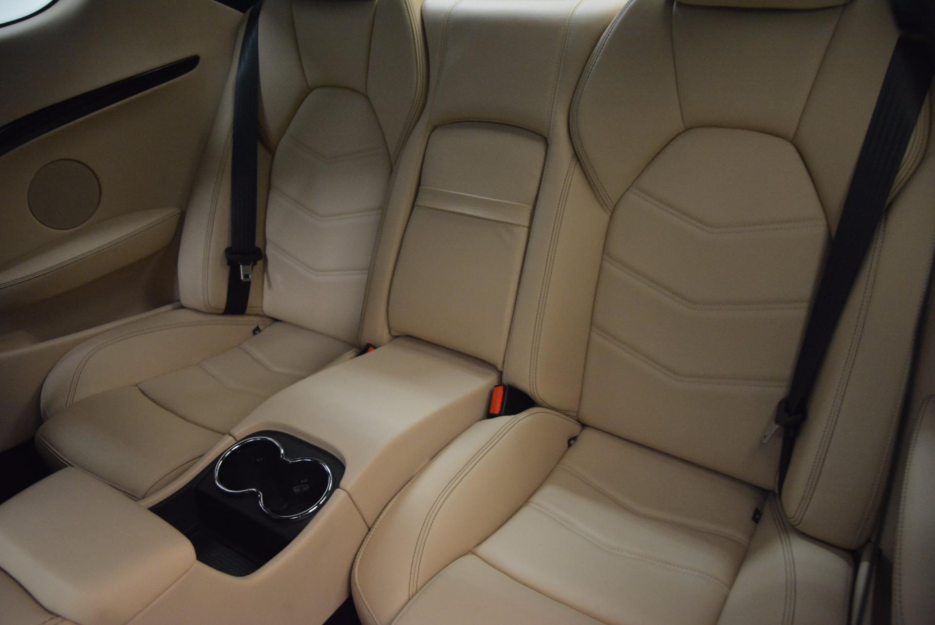Used 2015 Maserati GranTurismo Sport Coupe For Sale In Greenwich, CT 1557_p16