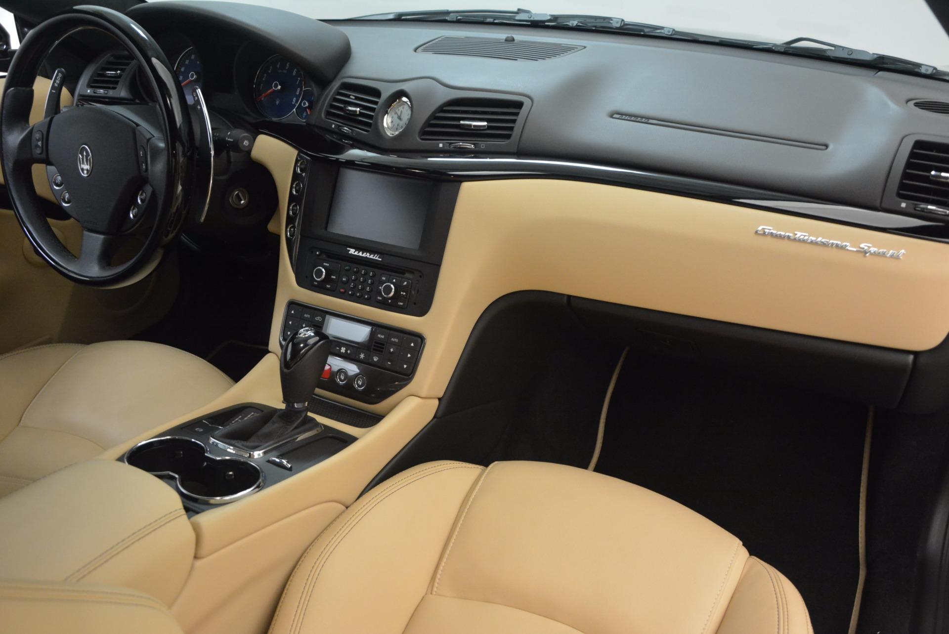 Used 2015 Maserati GranTurismo Sport Coupe For Sale In Greenwich, CT 1557_p22