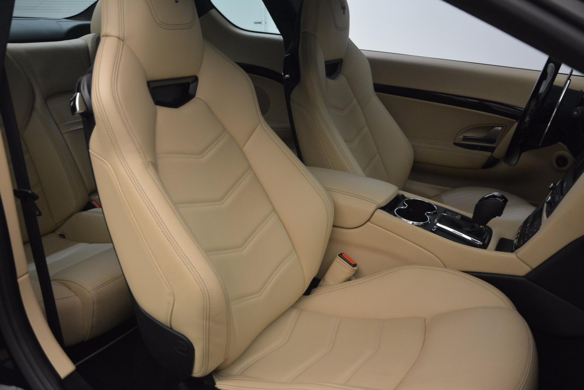 Used 2015 Maserati GranTurismo Sport Coupe For Sale In Greenwich, CT 1557_p24