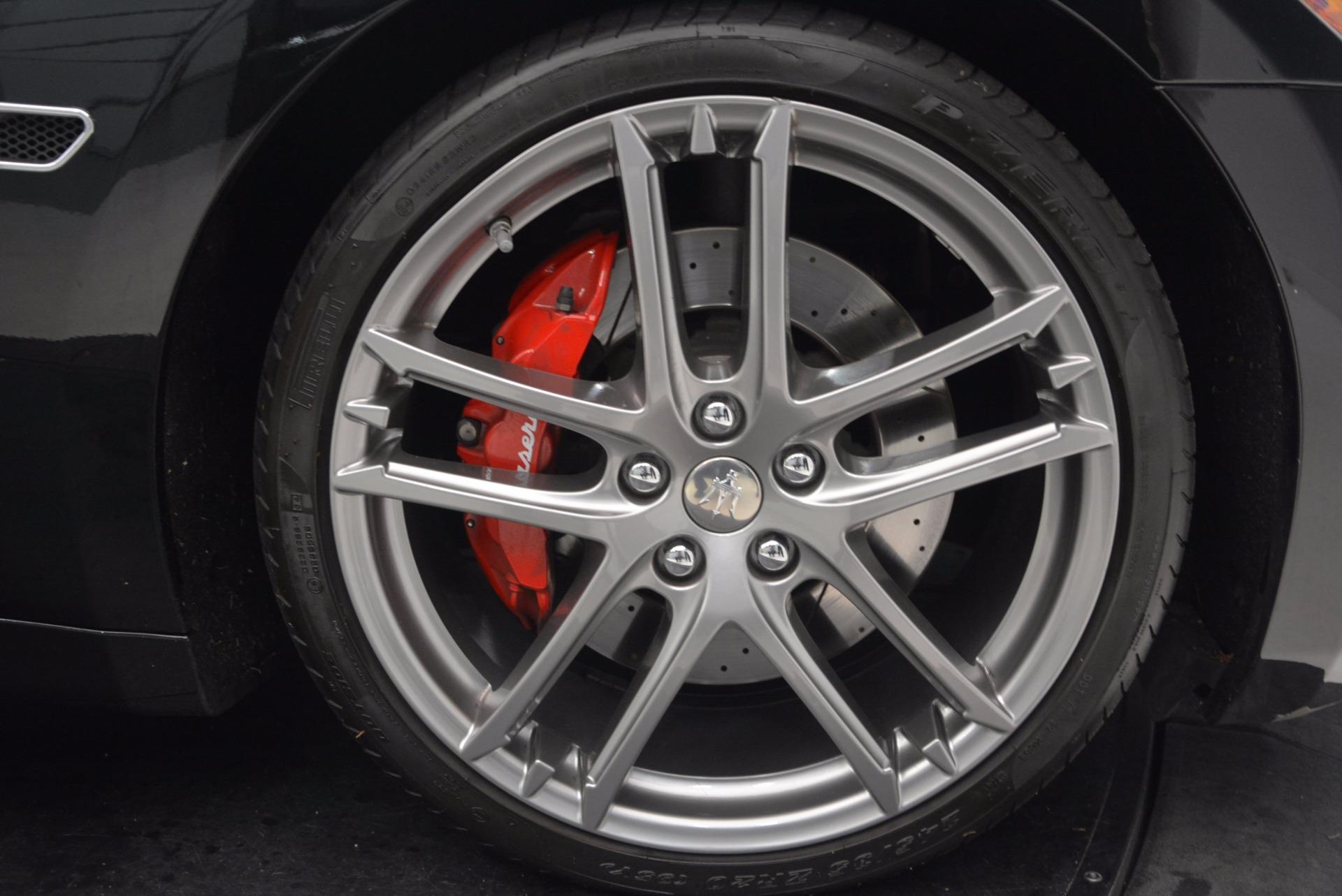 Used 2015 Maserati GranTurismo Sport Coupe For Sale In Greenwich, CT 1557_p27