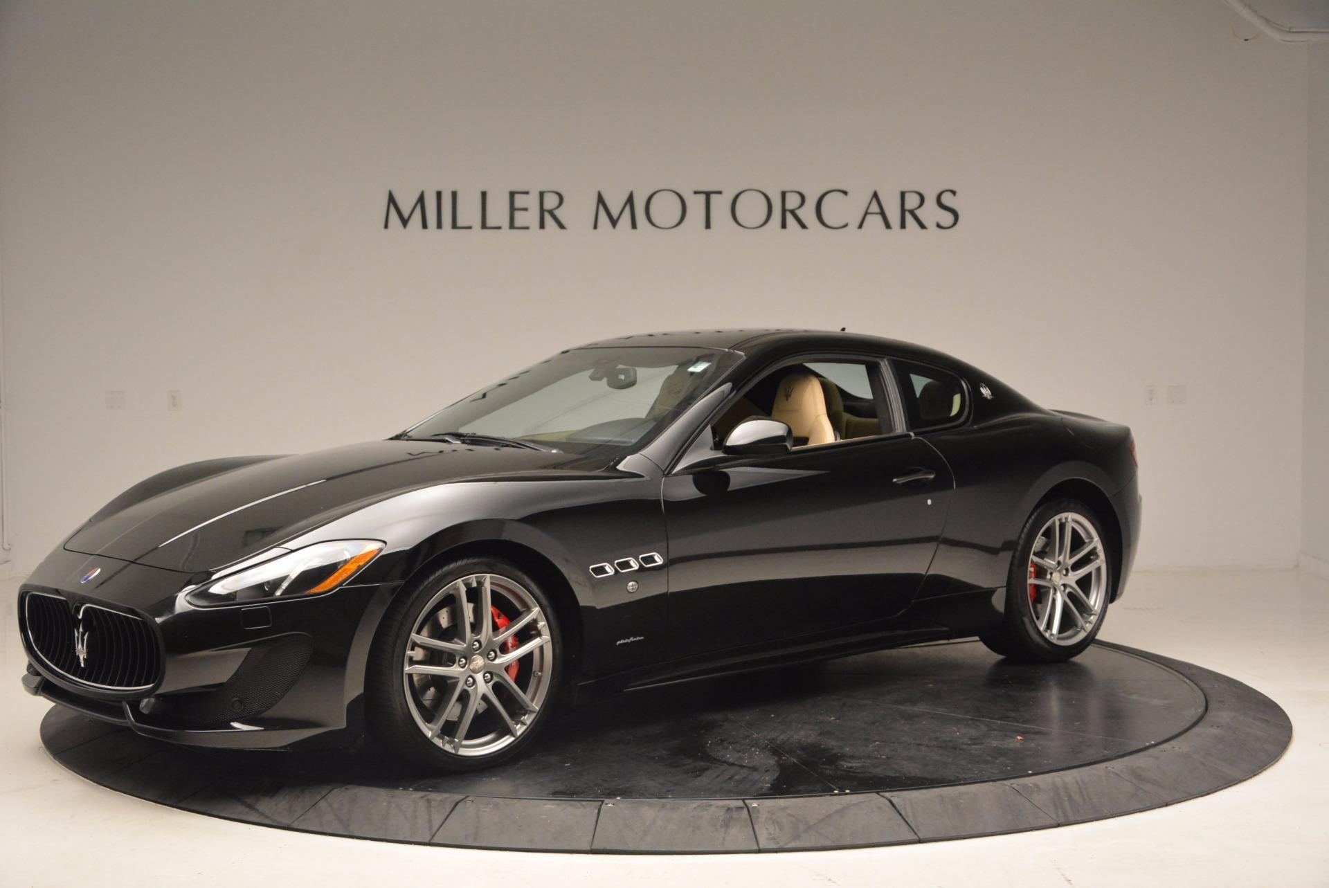 Used 2015 Maserati GranTurismo Sport Coupe For Sale In Greenwich, CT 1557_p2