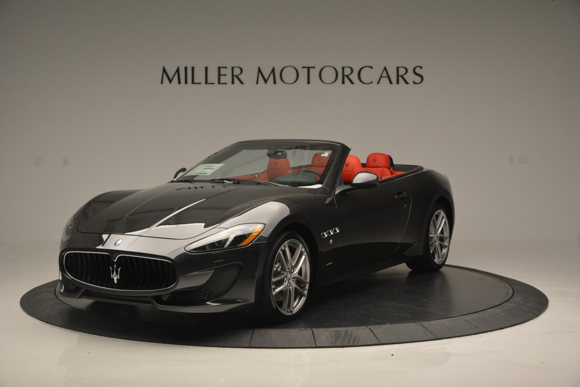 New 2017 Maserati GranTurismo Convertible Sport For Sale In Greenwich, CT 156_main