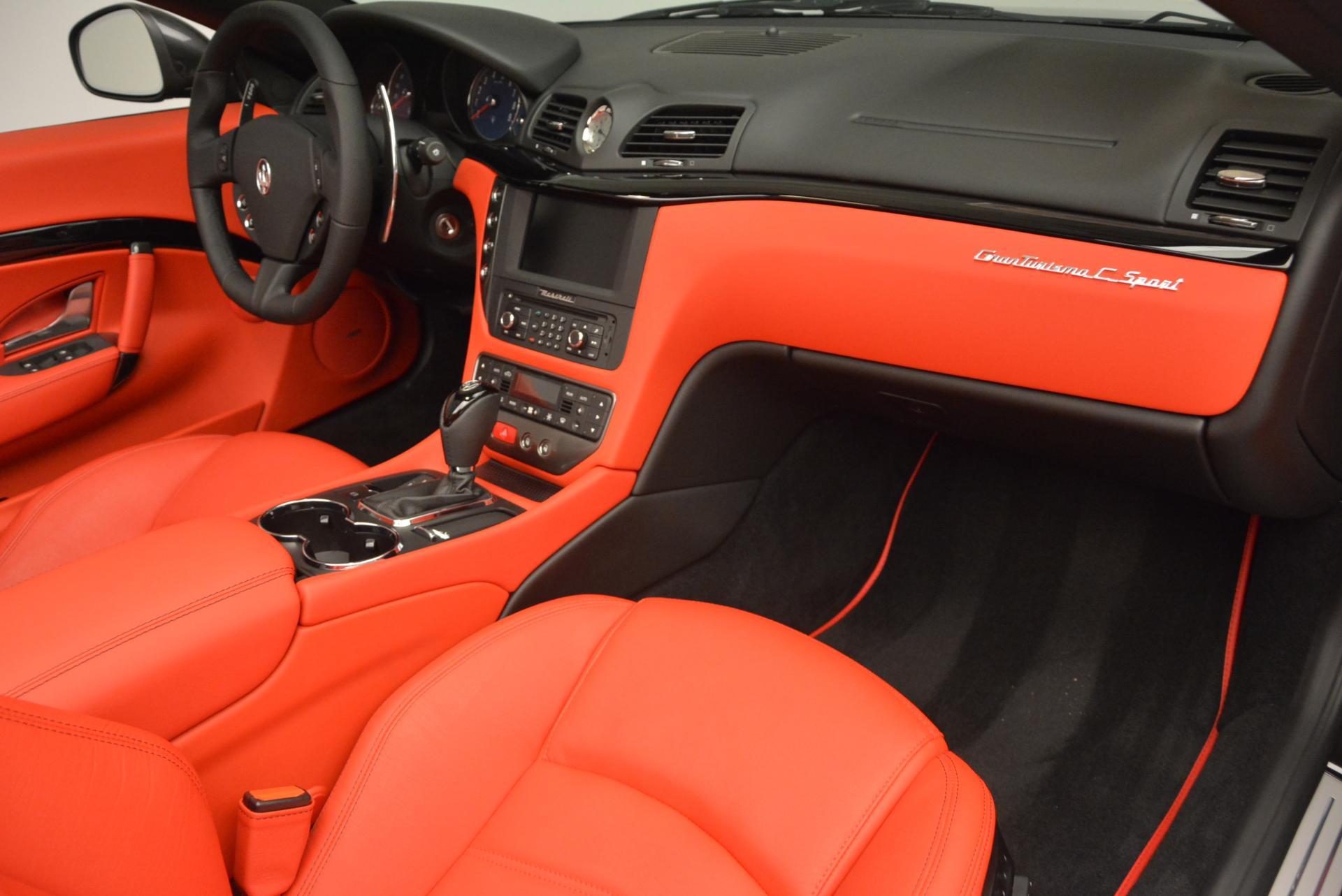 New 2017 Maserati GranTurismo Convertible Sport For Sale In Greenwich, CT 156_p23