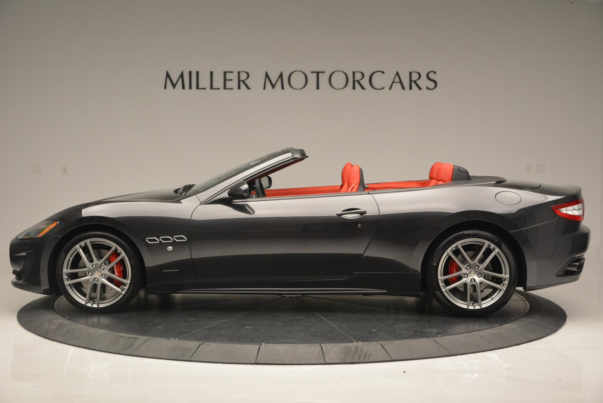 New 2017 Maserati GranTurismo Convertible Sport For Sale In Greenwich, CT 156_p5