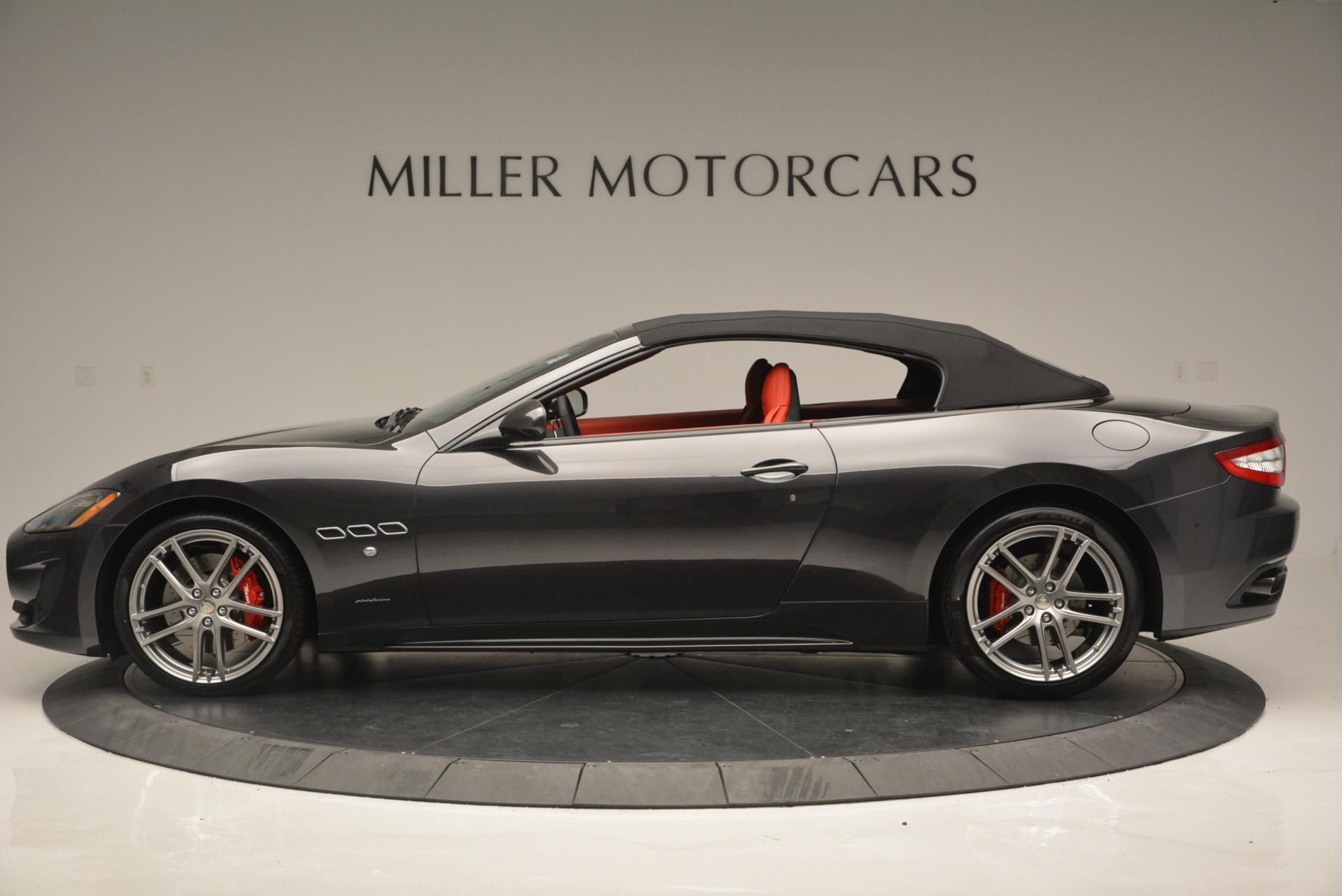 New 2017 Maserati GranTurismo Convertible Sport For Sale In Greenwich, CT 156_p6