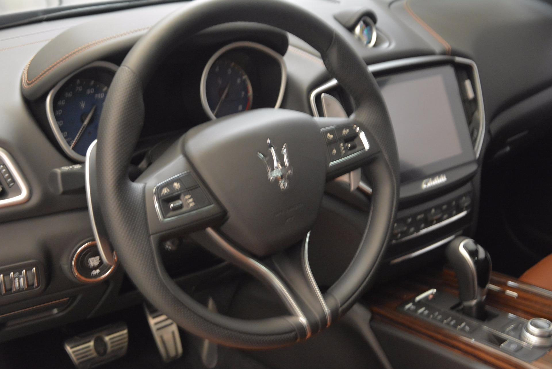 New 2018 Maserati Ghibli S Q4 Gransport For Sale In Greenwich, CT 1562_p16