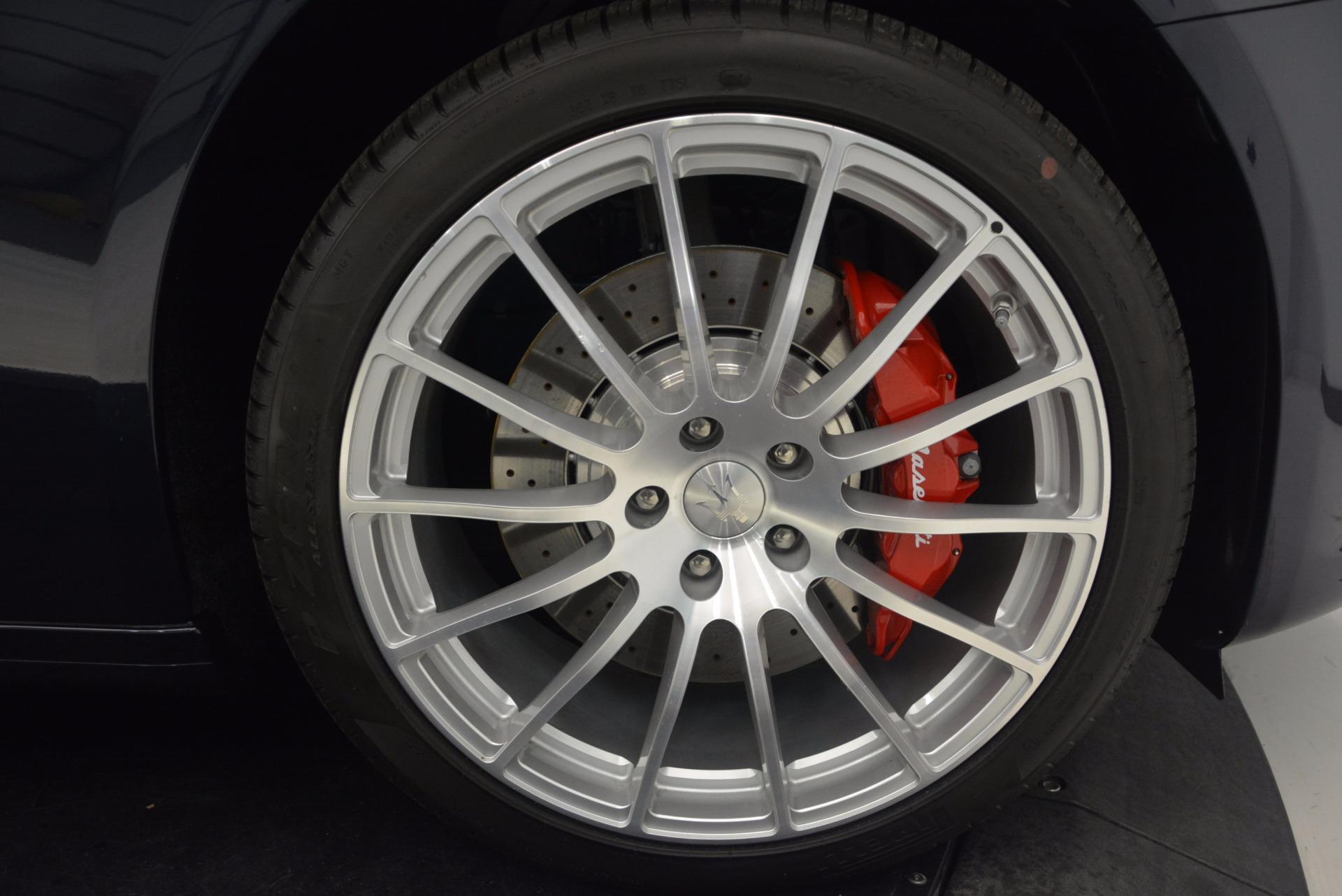 Used 2018 Maserati Quattroporte S Q4 GranLusso For Sale In Greenwich, CT 1572_p25