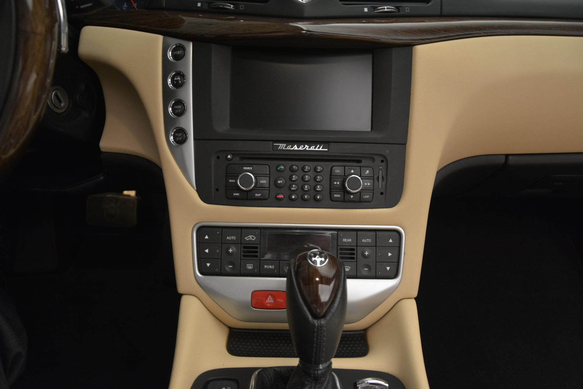 Used 2011 Maserati GranTurismo Base For Sale In Greenwich, CT 158_p37