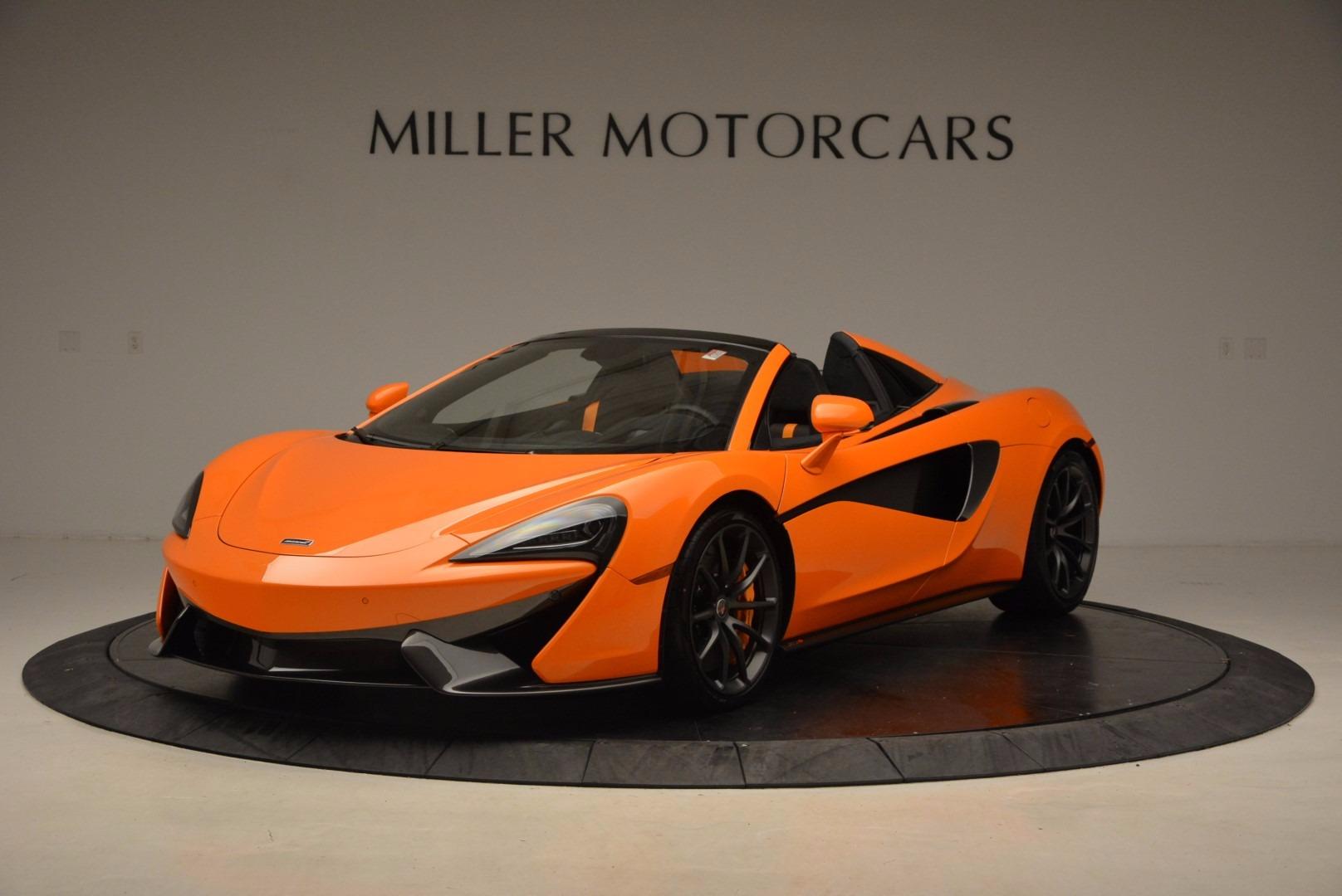 New 2018 McLaren 570S Spider  For Sale In Greenwich, CT 1580_main