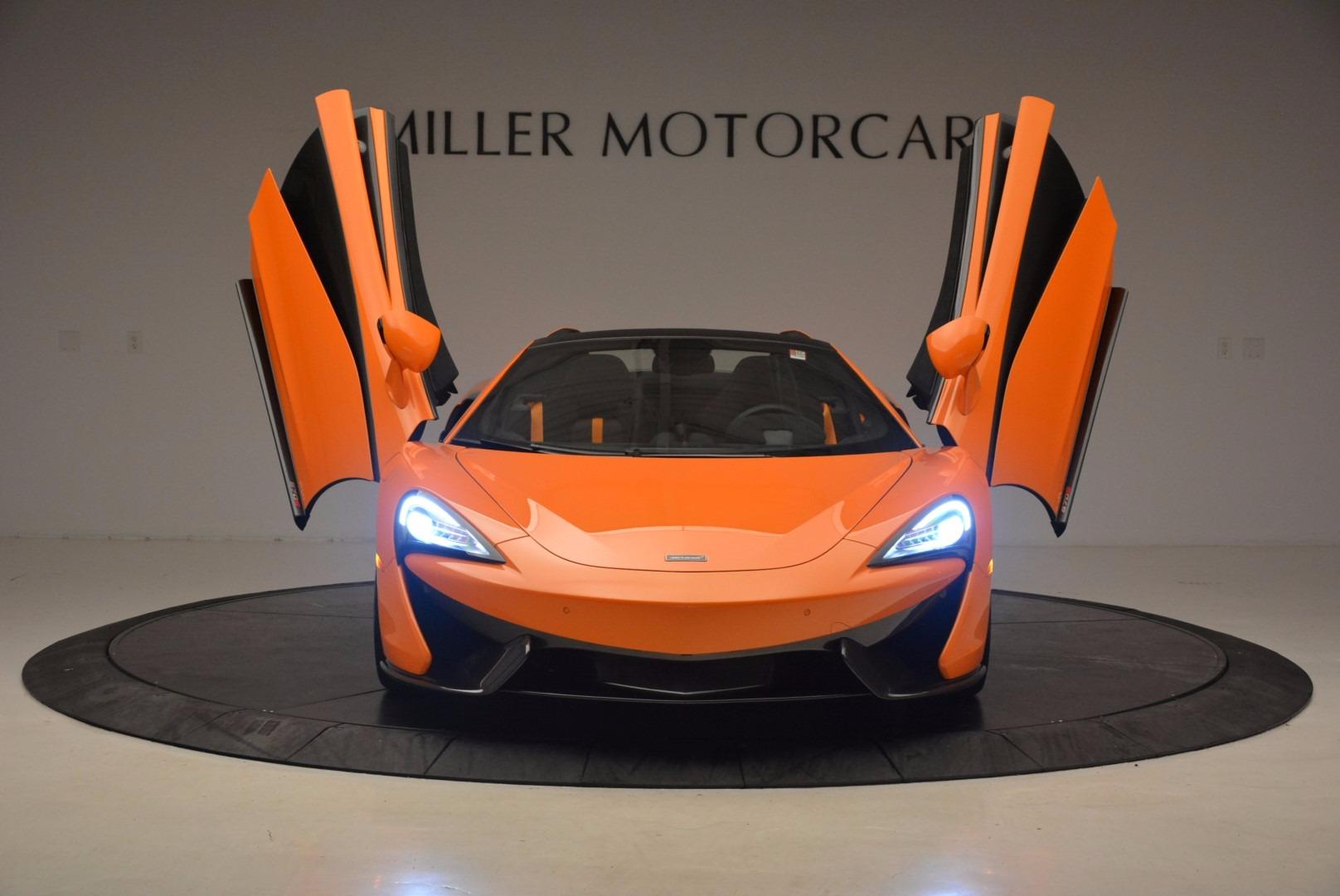 New 2018 McLaren 570S Spider  For Sale In Greenwich, CT 1580_p13