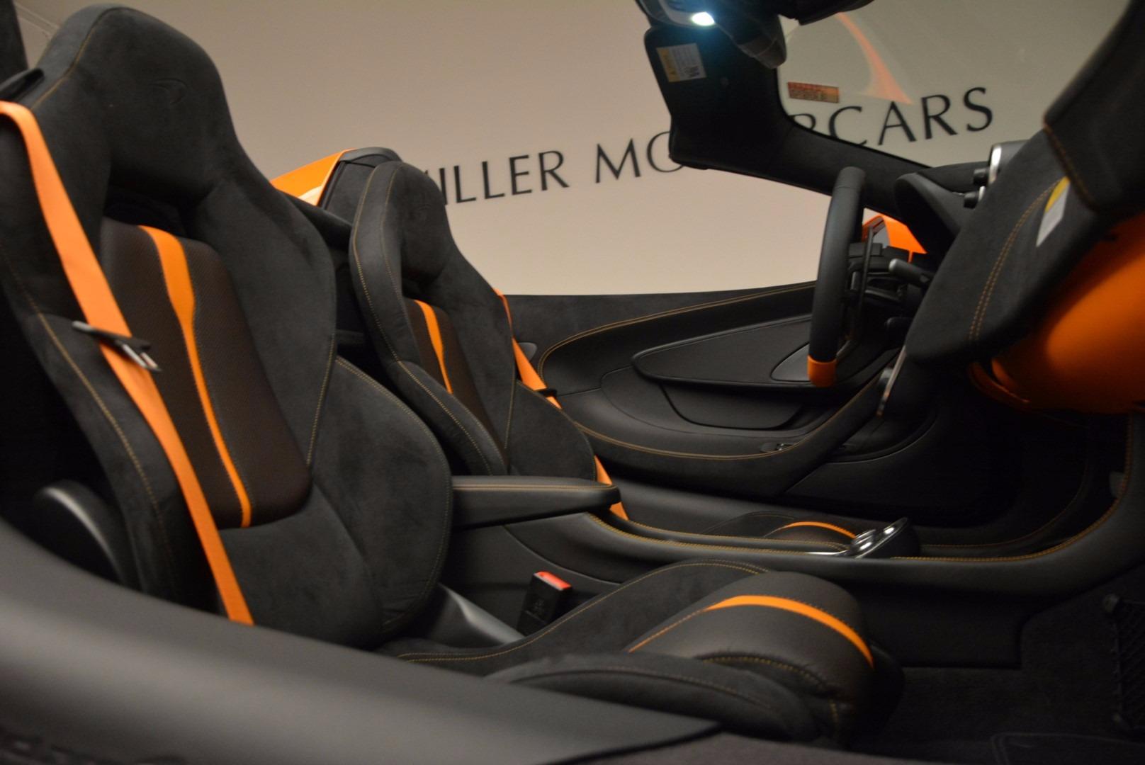 New 2018 McLaren 570S Spider  For Sale In Greenwich, CT 1580_p31