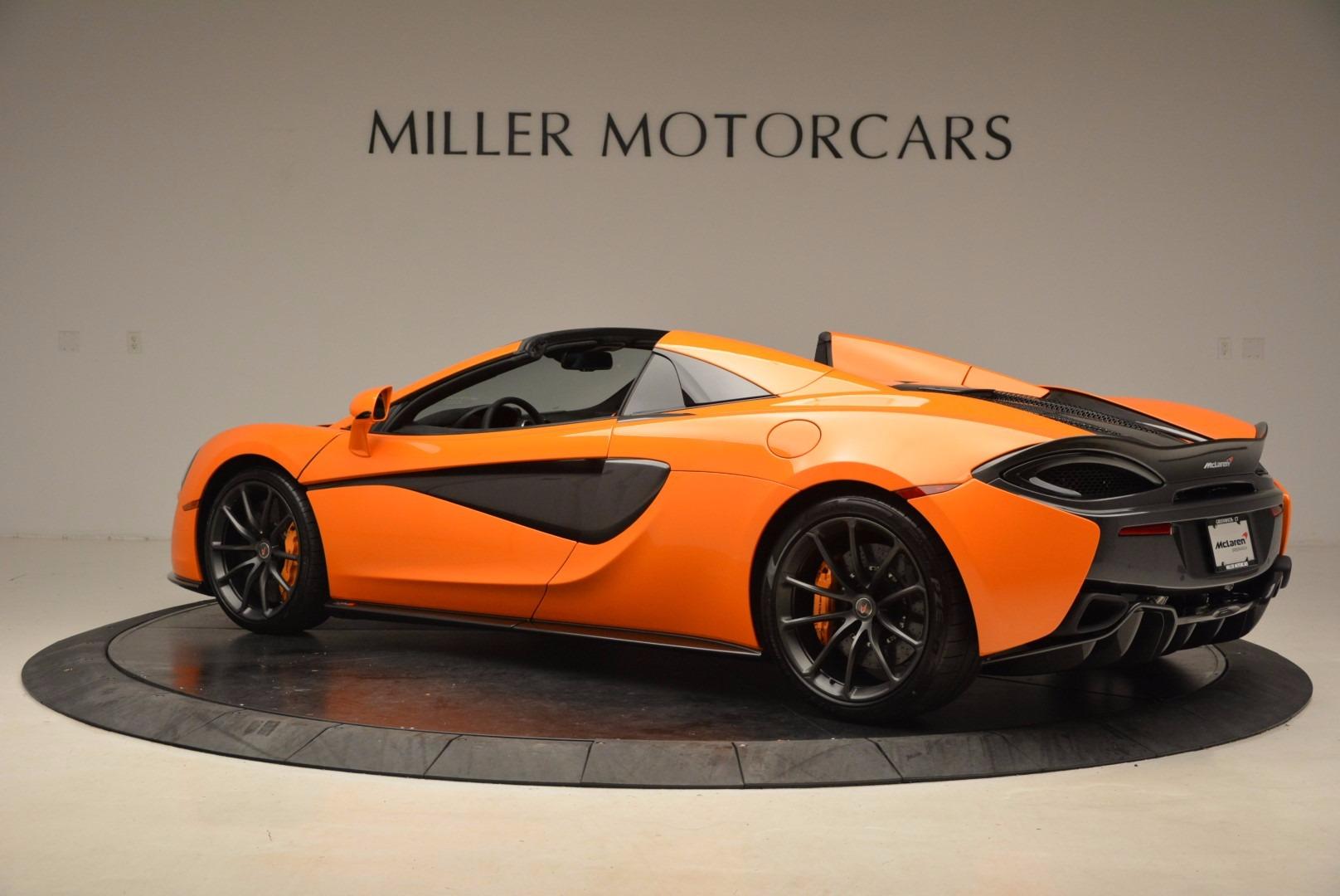 New 2018 McLaren 570S Spider  For Sale In Greenwich, CT 1580_p4
