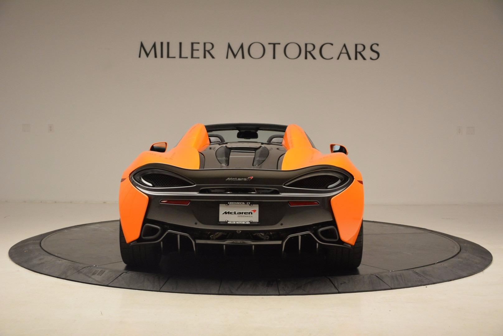 New 2018 McLaren 570S Spider  For Sale In Greenwich, CT 1580_p6