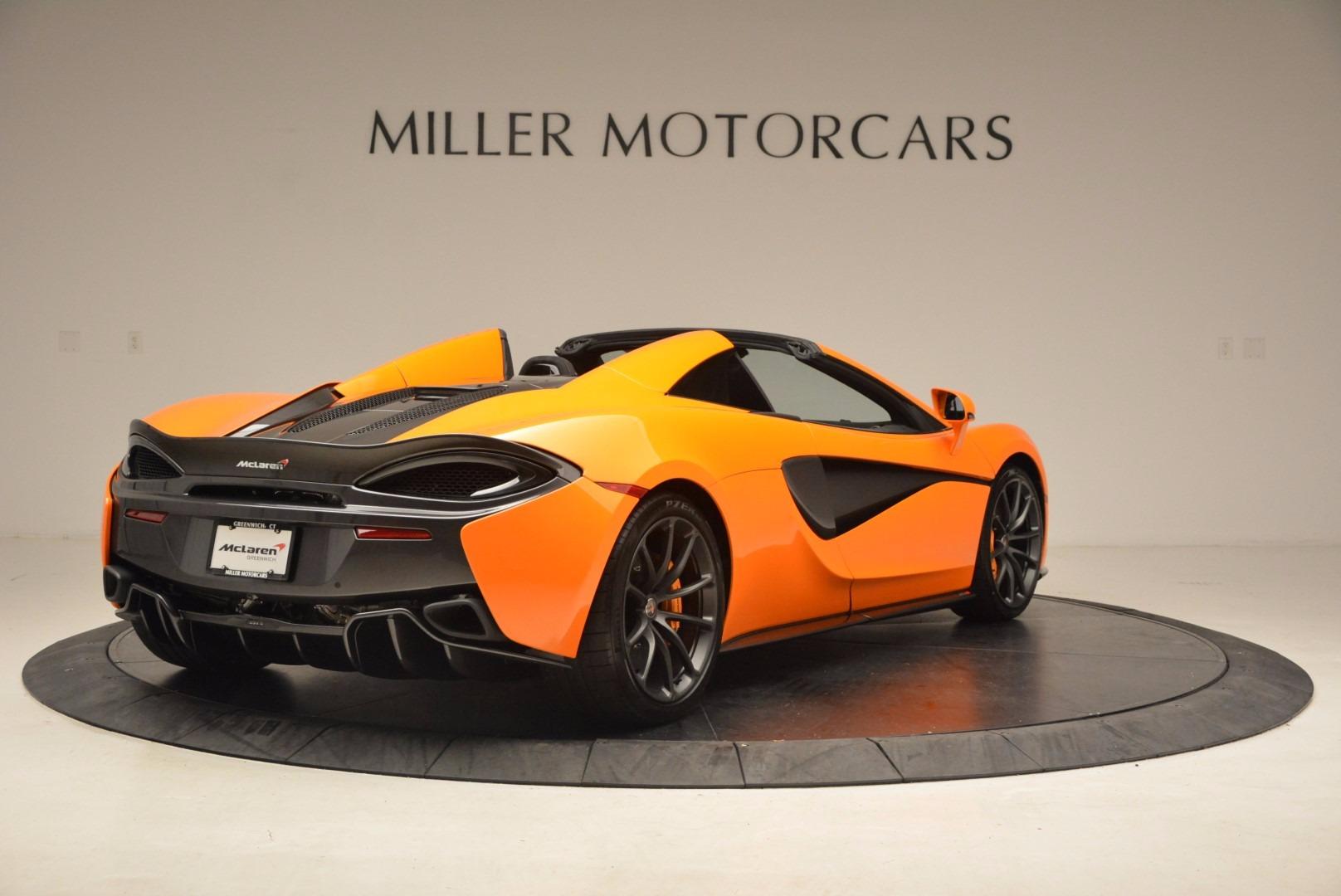 New 2018 McLaren 570S Spider  For Sale In Greenwich, CT 1580_p7