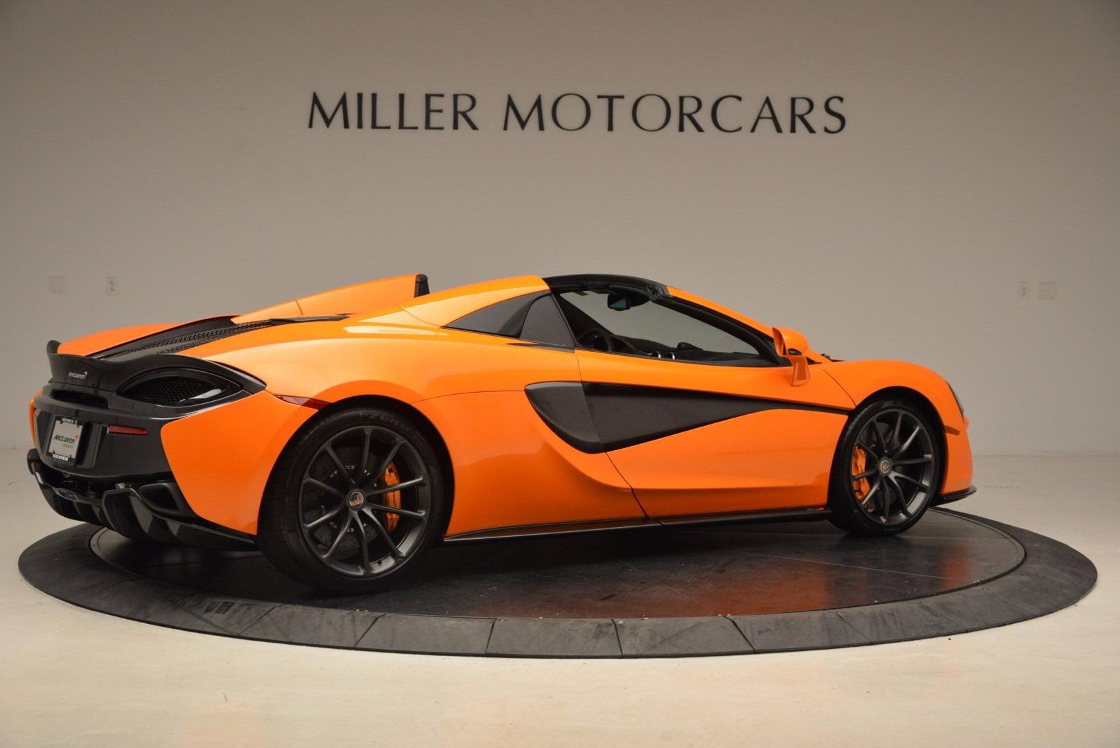 New 2018 McLaren 570S Spider  For Sale In Greenwich, CT 1580_p8
