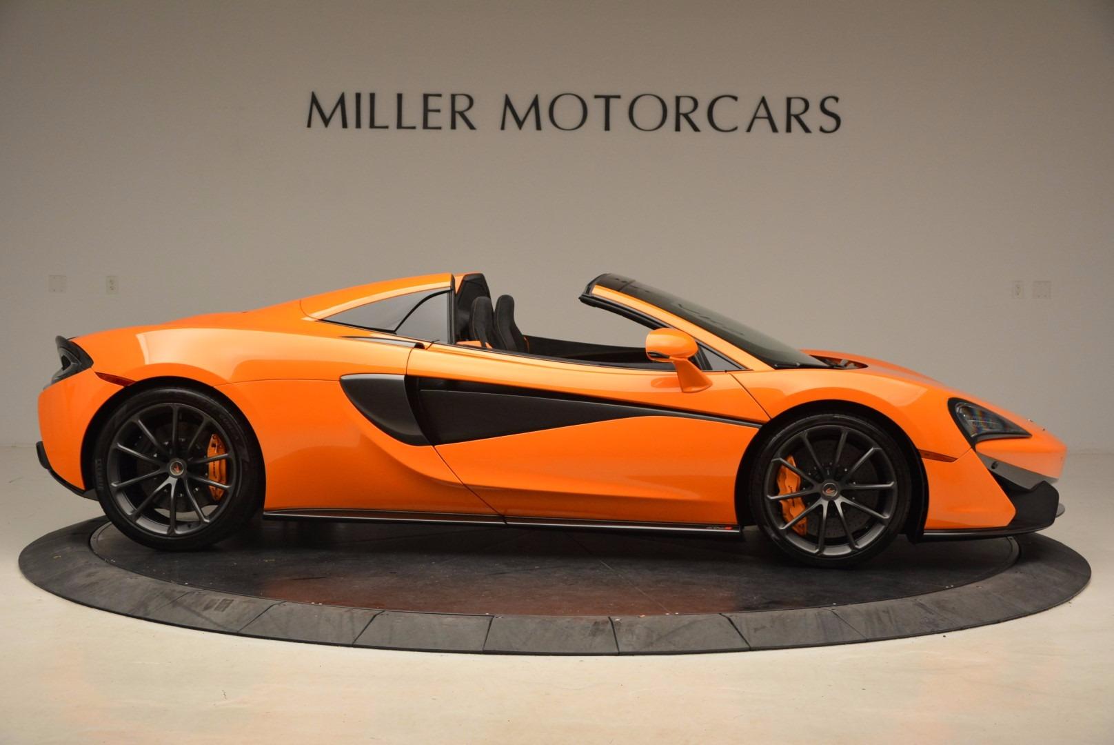 New 2018 McLaren 570S Spider  For Sale In Greenwich, CT 1580_p9