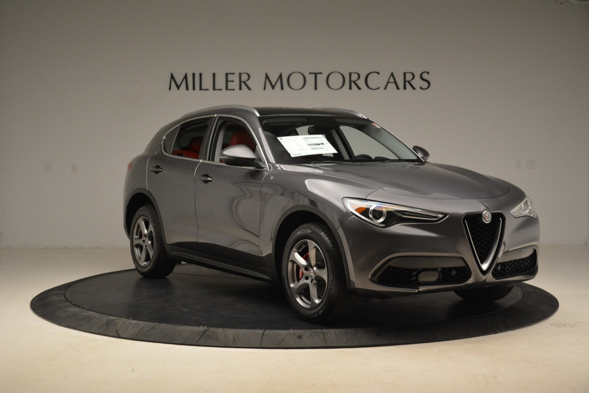 New 2018 Alfa Romeo Stelvio Q4 For Sale In Greenwich, CT 1592_p11