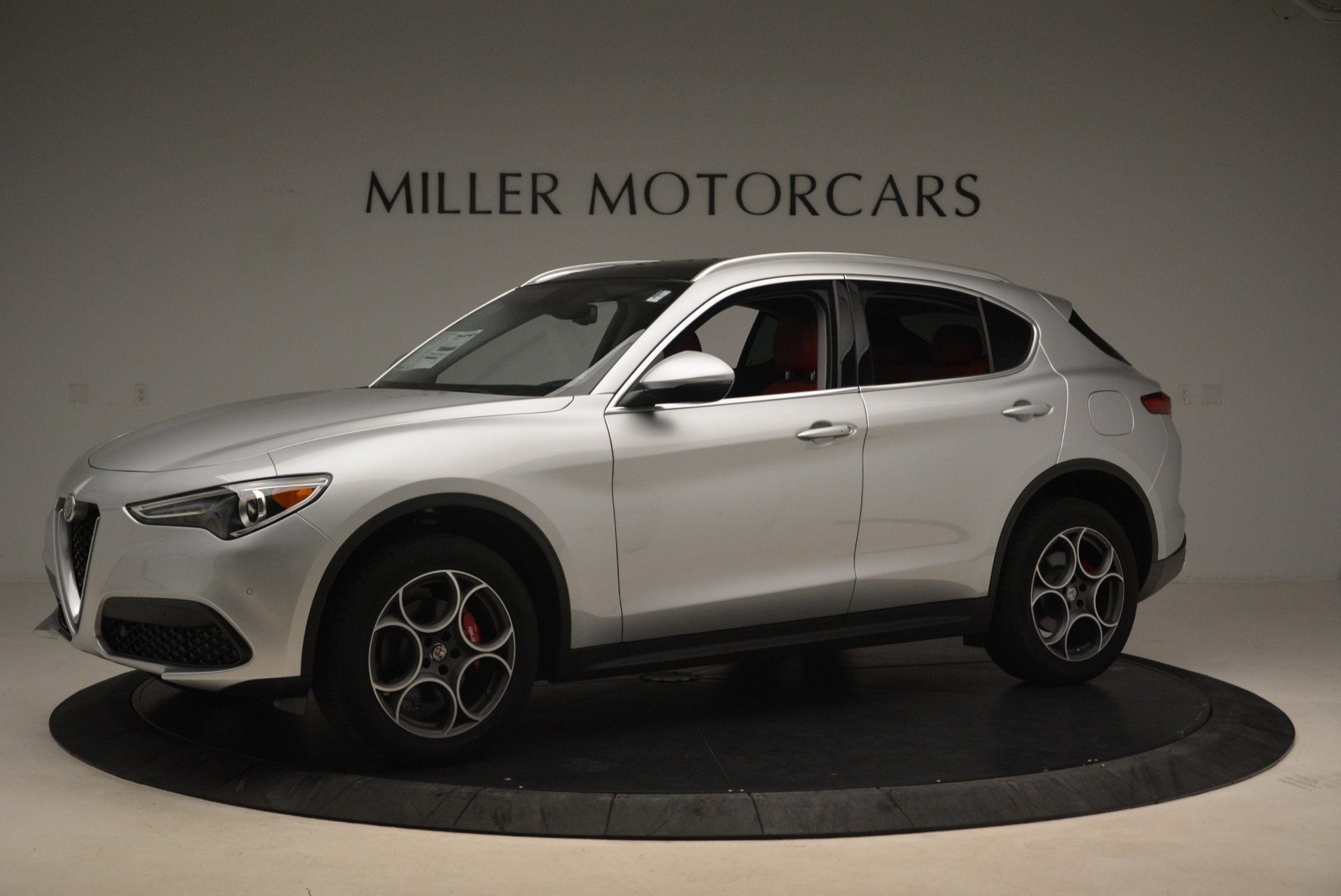 New 2018 Alfa Romeo Stelvio Ti Q4 For Sale In Greenwich, CT 1593_p2
