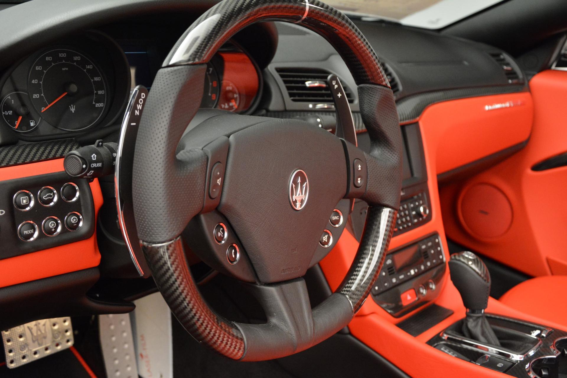 New 2016 Maserati GranTurismo Convertible MC For Sale In Greenwich, CT 160_p24